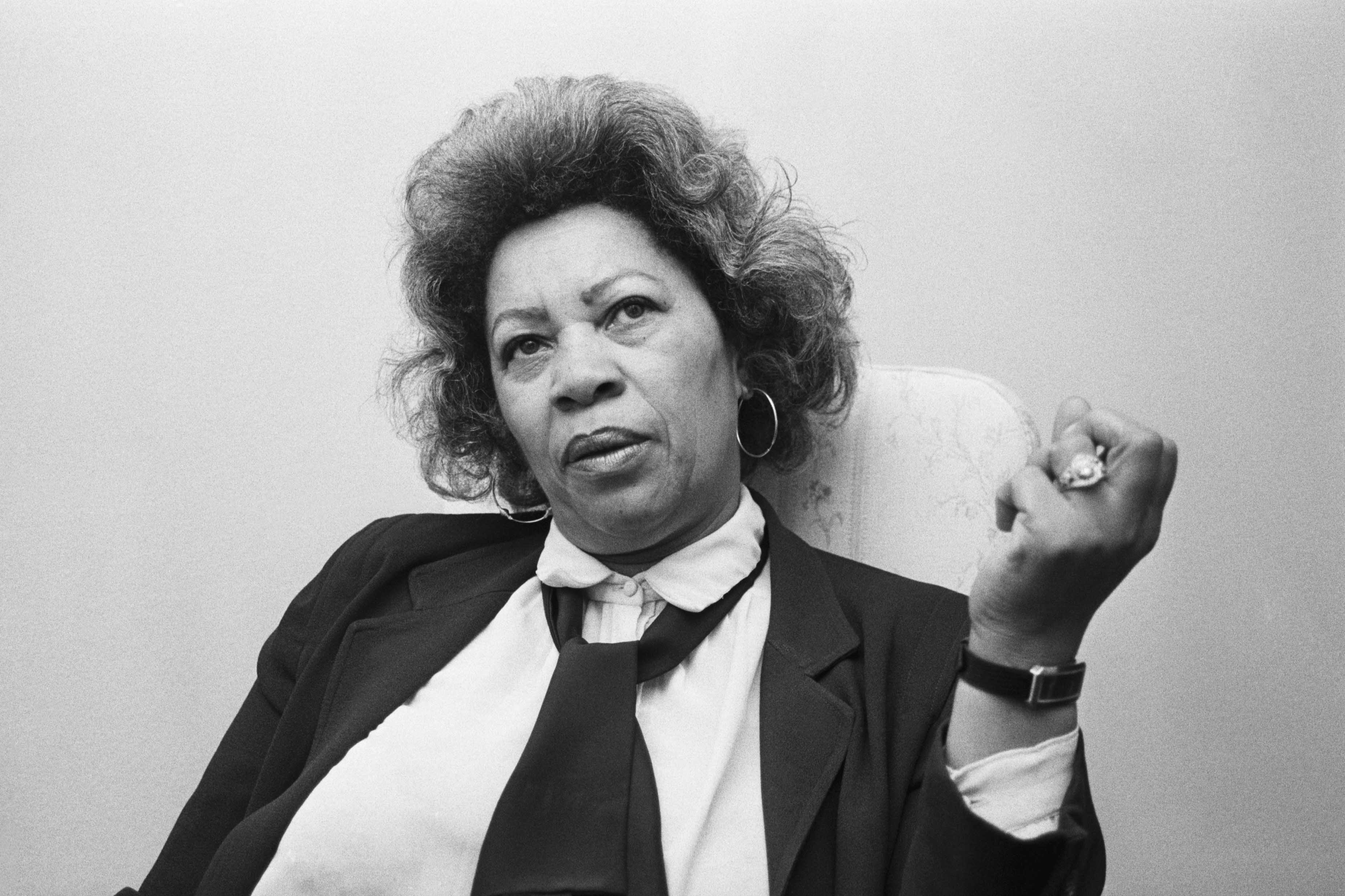 23 December 1985: In Albany, New York, novelist Toni Morrison discusses her venture into playwriting.