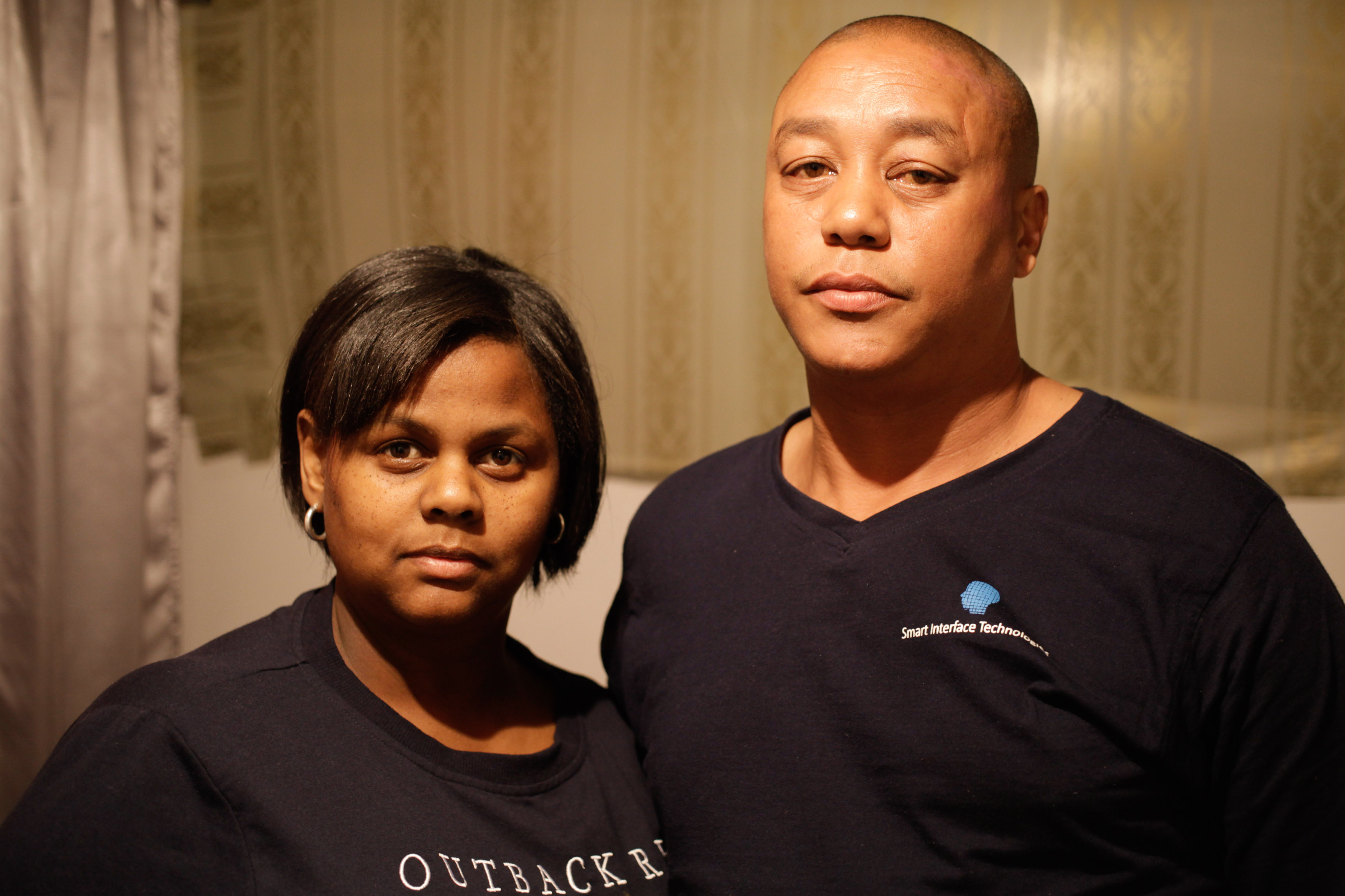 19 August 2019: Bradley van Harte and Monique Lottering have opened a case with the military police against soldiers who allegedly assaulted Van Harte during the anti-gang operation that began in Hanover Park in mid-July.