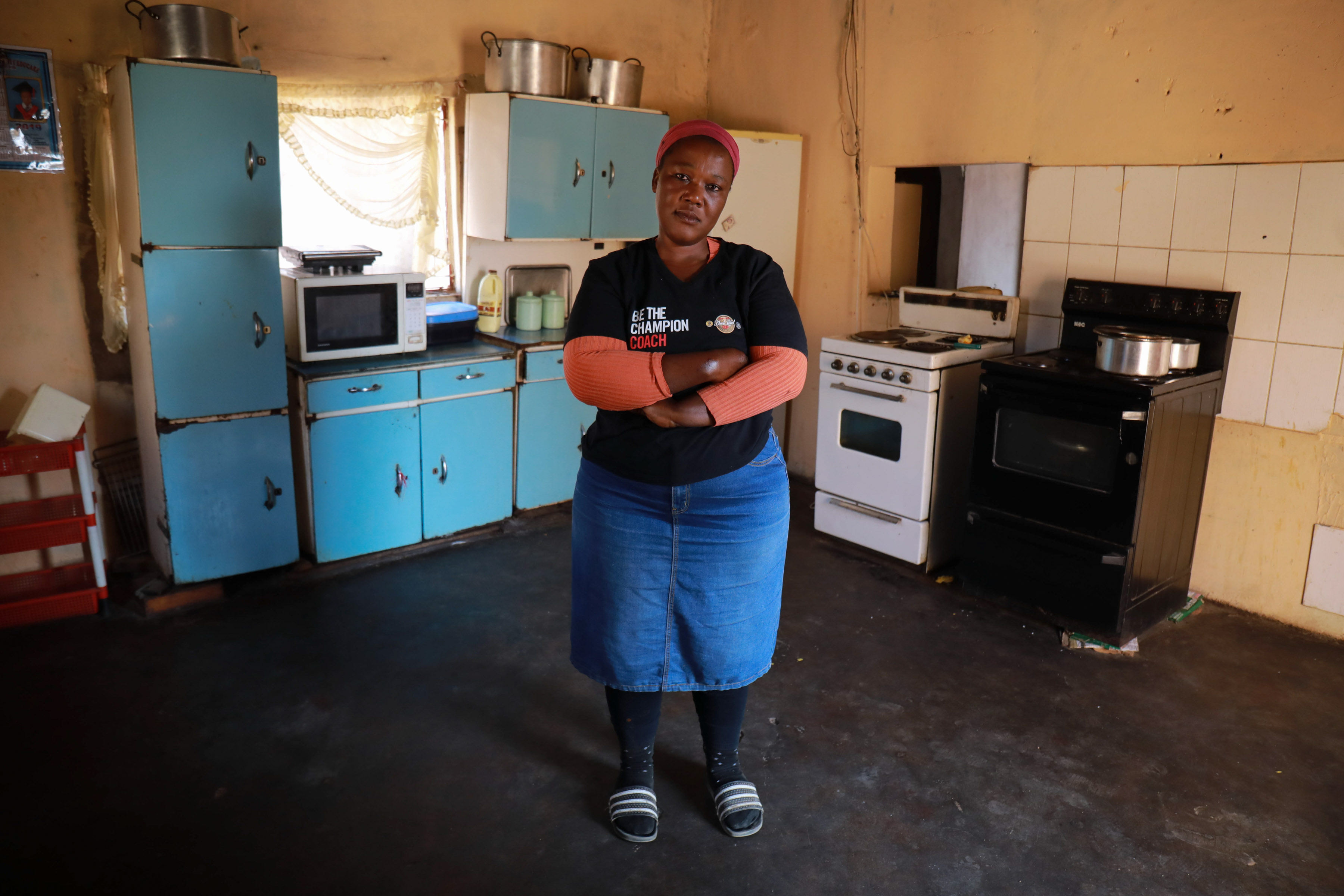 5 August 2019: Mother of twins Johanna Mahlangu, who hails from Matshiding village in Mpumalanga, was fired without notice from her job as a domestic worker after she was involved in a bus accident.