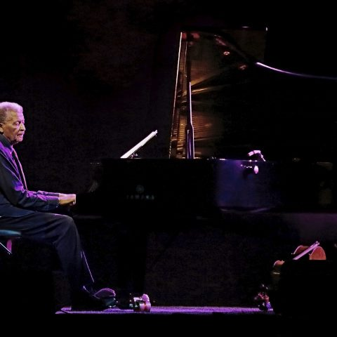 14 July 2019: Abdullah Ibrahim performing at the North Sea Jazz Festival in Rotterdam, The Netherlands. (Photograph by Peter van Breukelen/Redferns/Getty Images)