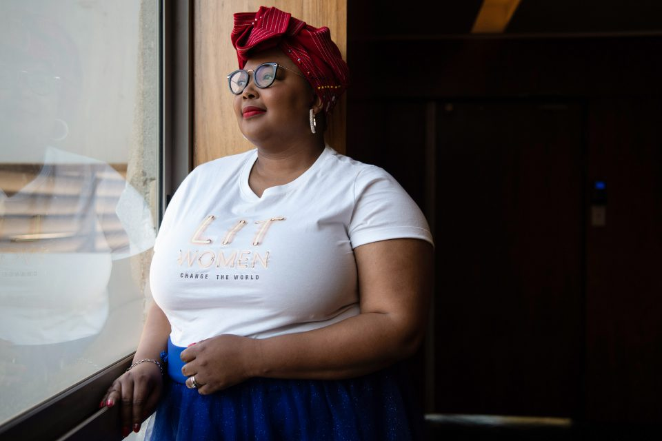 31 July 2019: Tlaleng Mofokeng – known among other monikers as Dr T – is the author of 'Dr T: A Guide to Sexual Health and Pleasure'.