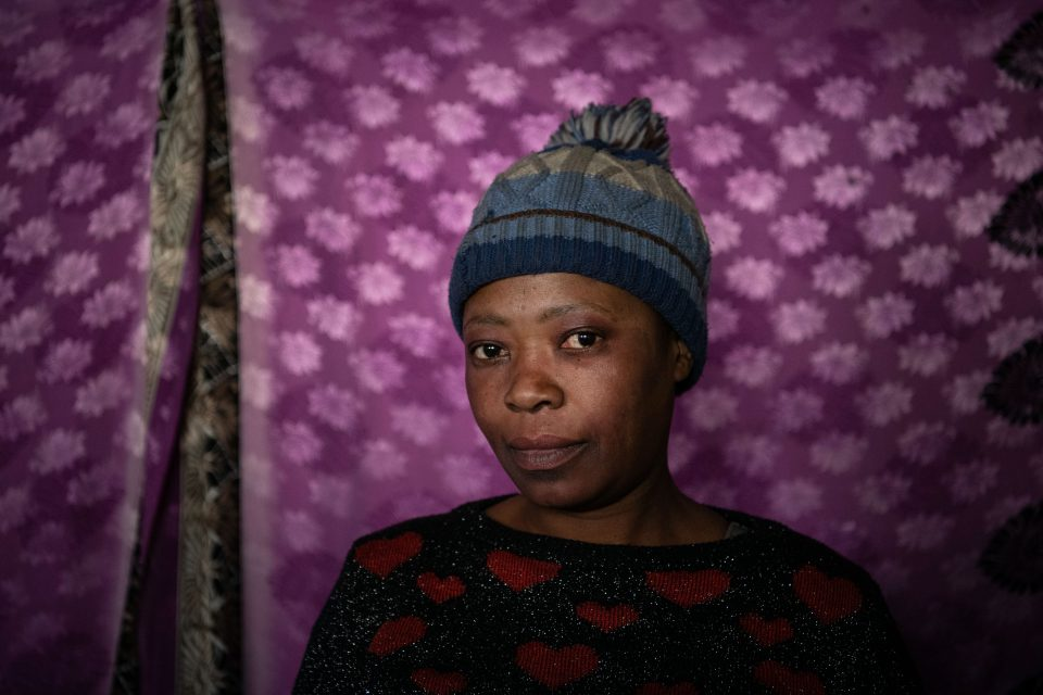 10 July 2019: Lucia Khumalo lost her cooking pots and as a result her food business when the Red Ants raided her home in the Bekezela shack settlement in Newtown, Johannesburg, two years ago.