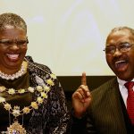23 August 2016: The ANC recalled eThekwini mayor Zandile Gumede (left) because of fraud accusations, but she has since withdrawn her resignation. (Photograph by Gallo Images/The Times/Jackie Clausen)