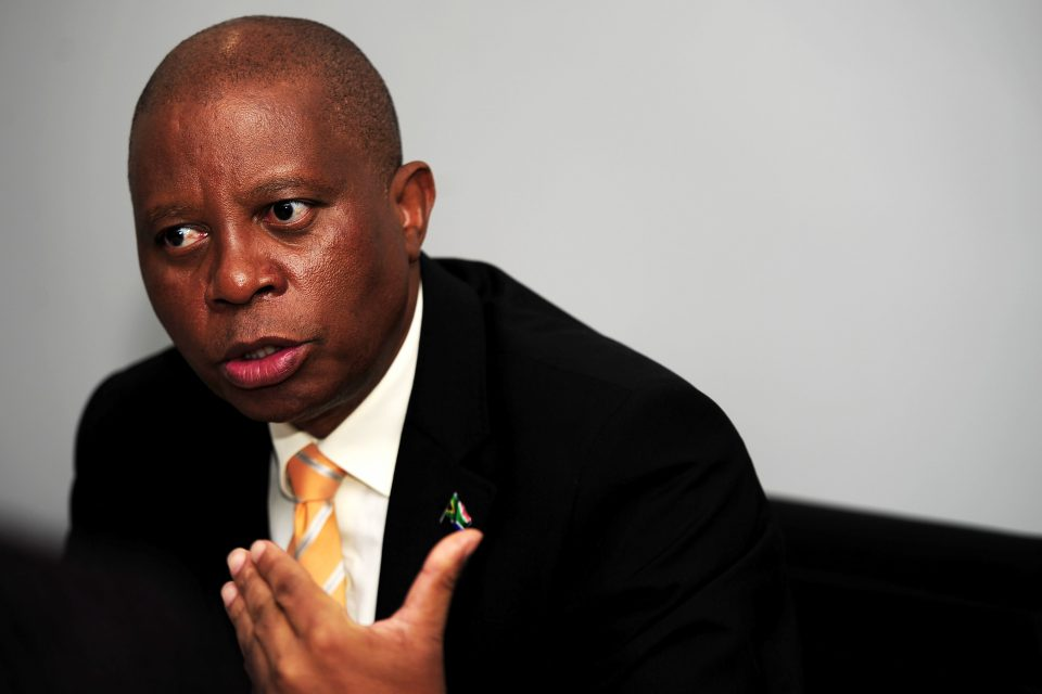 3 May 2019: City of Johannesburg Mayor Herman Mashaba said in an interview that there is simply not enough money to remedy service-delivery issues in Johannesburg. (Photograph by Gallo Images/City Press/Tebogo Letsie)