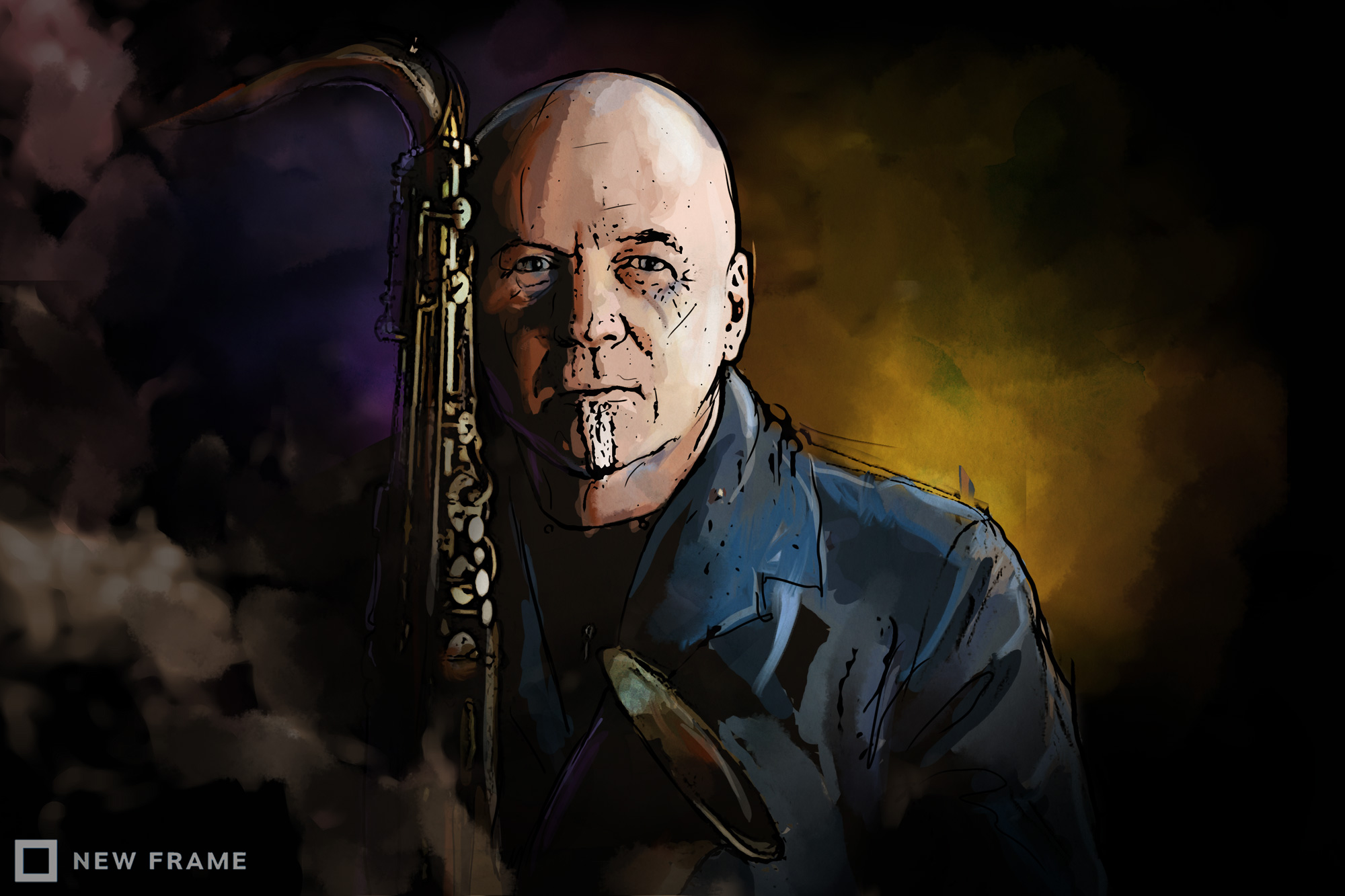 Steve Dyer and the making of his different world : New Frame
