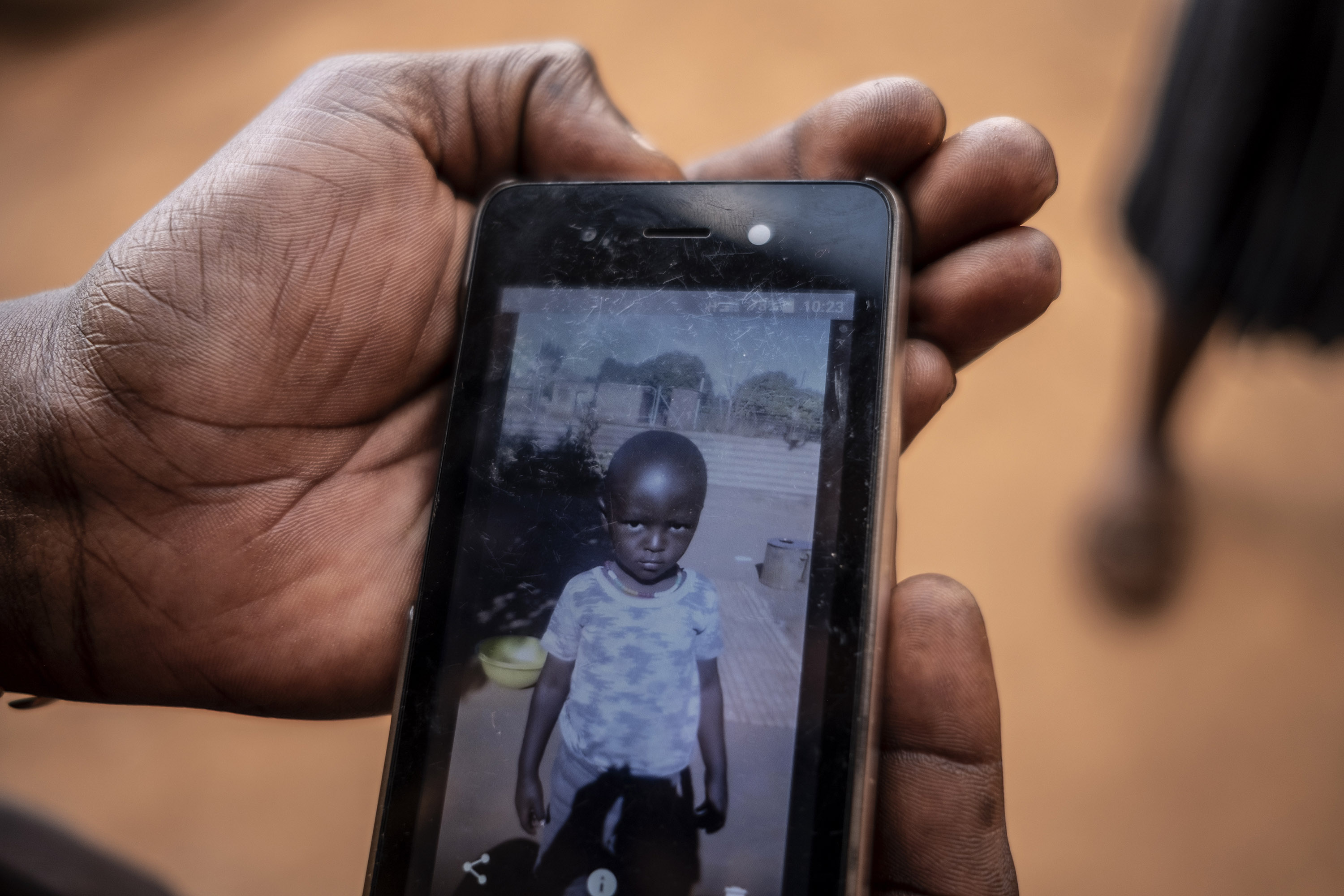 22 August 2019: Velly Mmola's son, two-year-old Katekani Vicky Mmola, in the cell phone photograph, was unconscious minutes after having a drip administered at the Dr CN Phatudi Hospital. He died shortly thereafter.