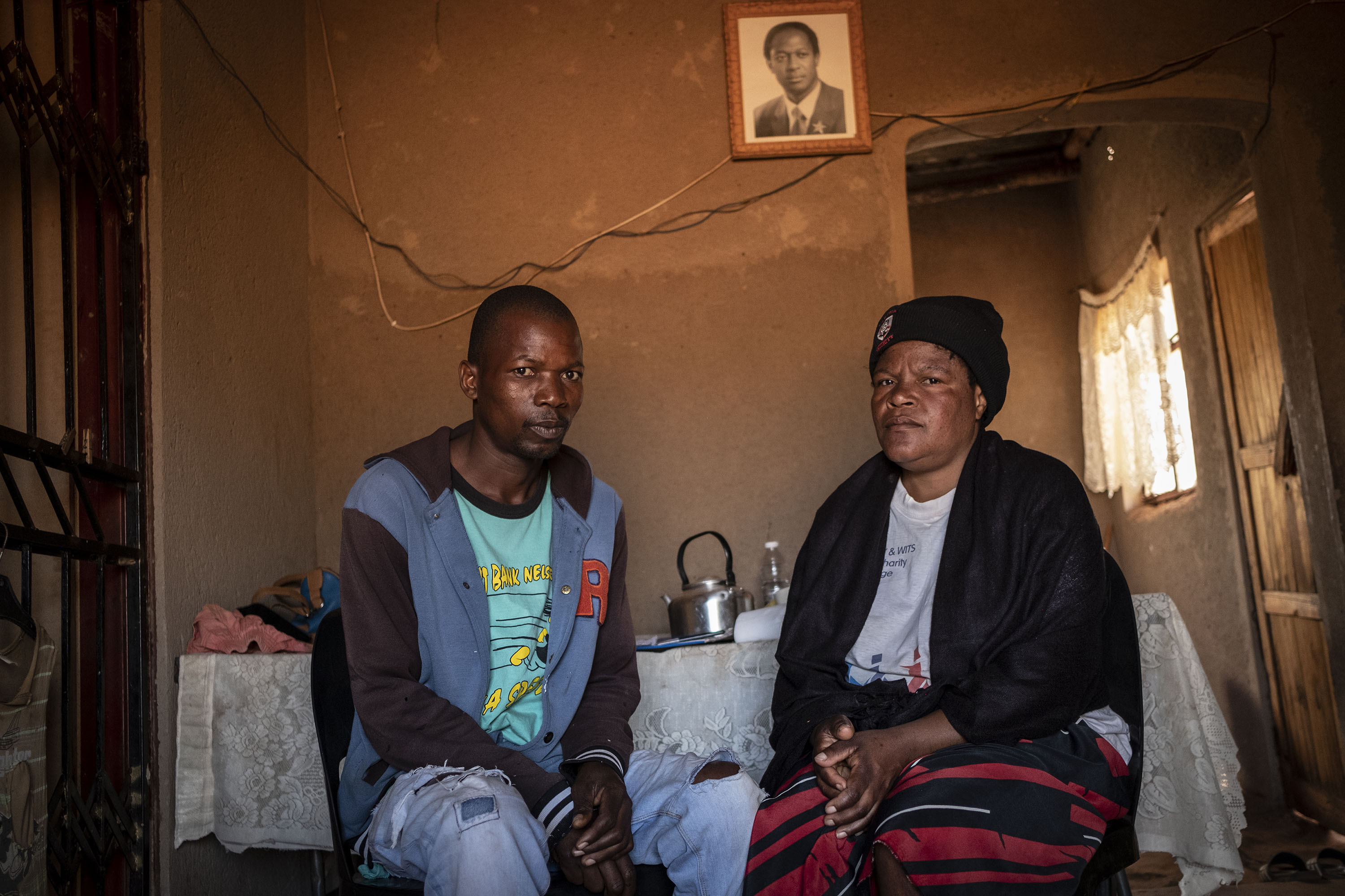 22 August 2019: Lebogang's bereaved parents, Aaron (left) and Daphney Nyakale.