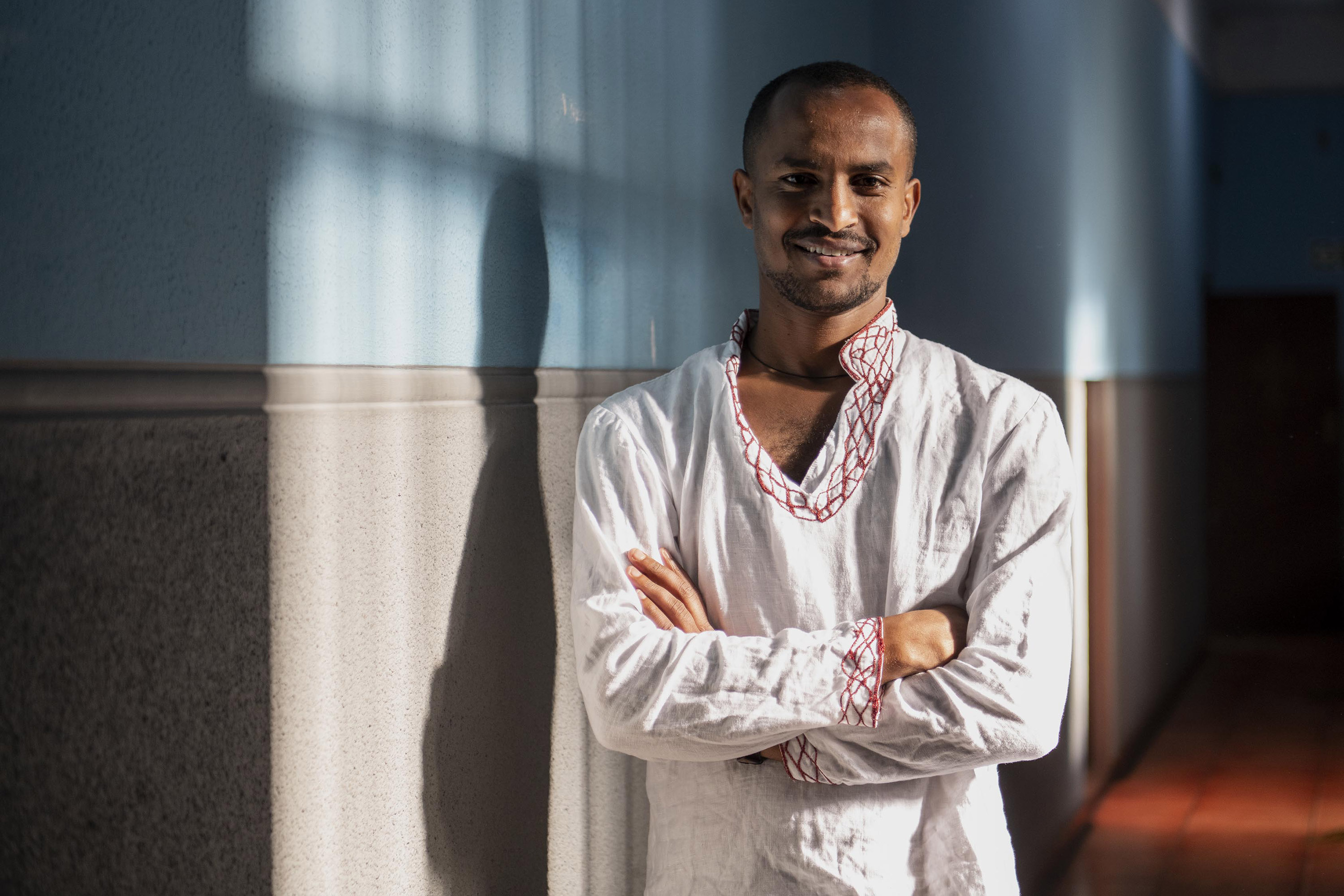 12 September 2019: Tadesse Yemane has been living in South Africa as an asylum seeker from Ethiopia for the past 16 years.