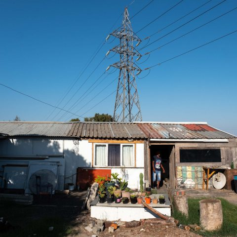 23 February 2019: The home of Danny Adriaanse's brother on the Klipfontein Mission Station.