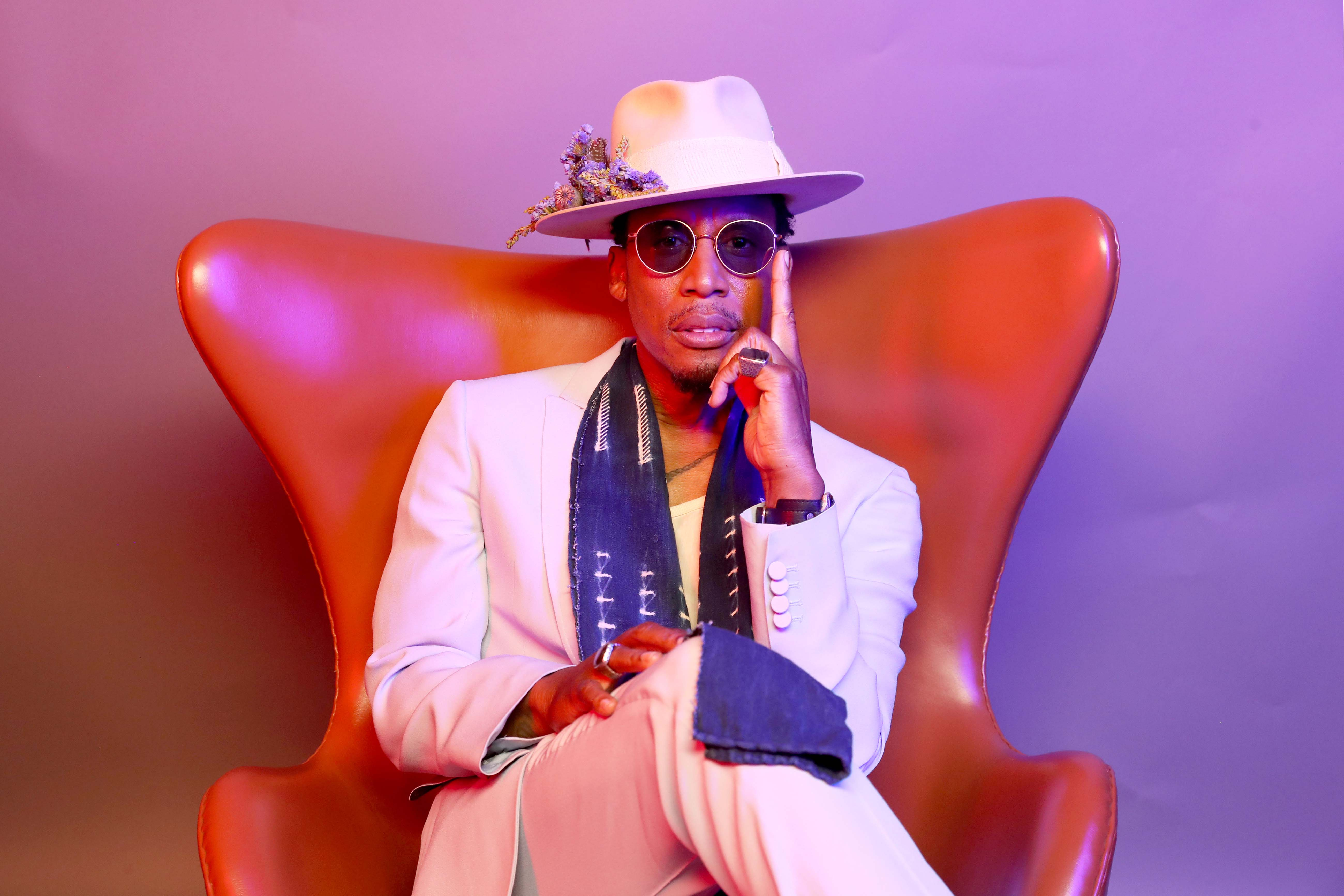 23 June 2019: Raphael Saadiq at the BET Awards at the Microsoft Theater in Los Angeles, California, in the United States. (Photograph by Bennett Raglin/Getty Images for BET)