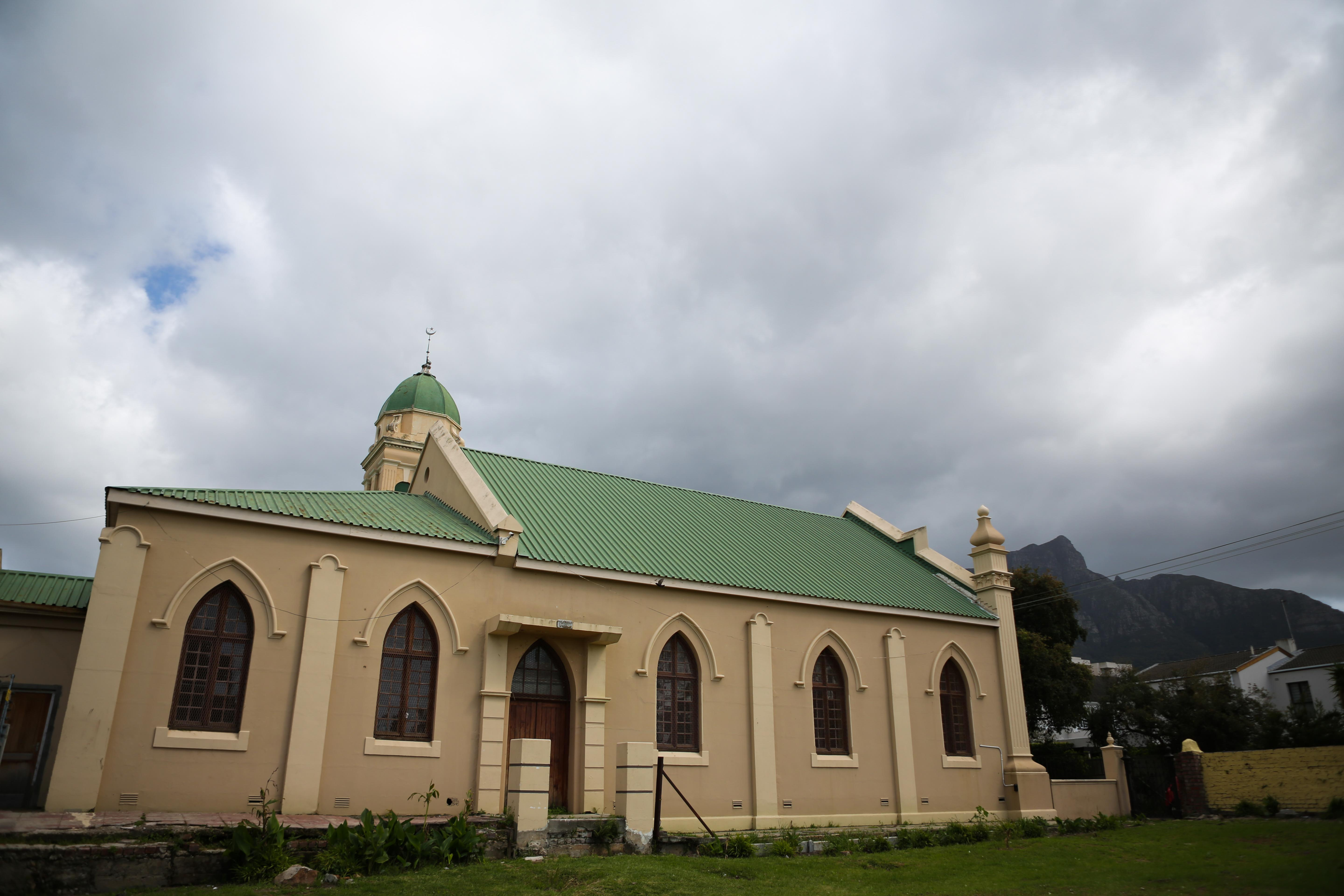 22 September 2019: Al Jaamia Mosque on Stegman Road, Claremont, where Imam Haron was appointed in 1955.