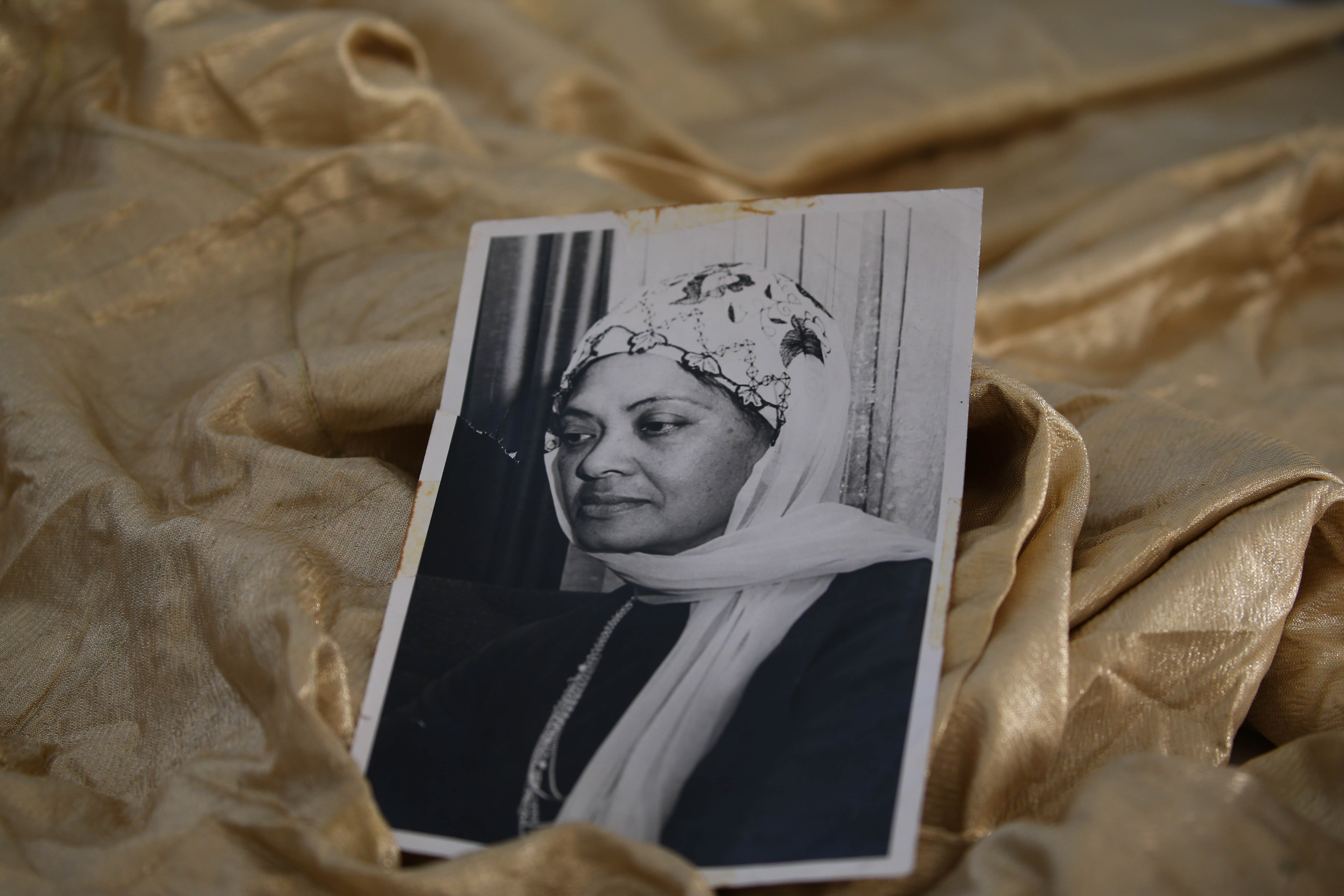 22 September 2019: A photo of Galiema Haron, wife of Imam Haron, taken while she was in mourning after his death in 1969.