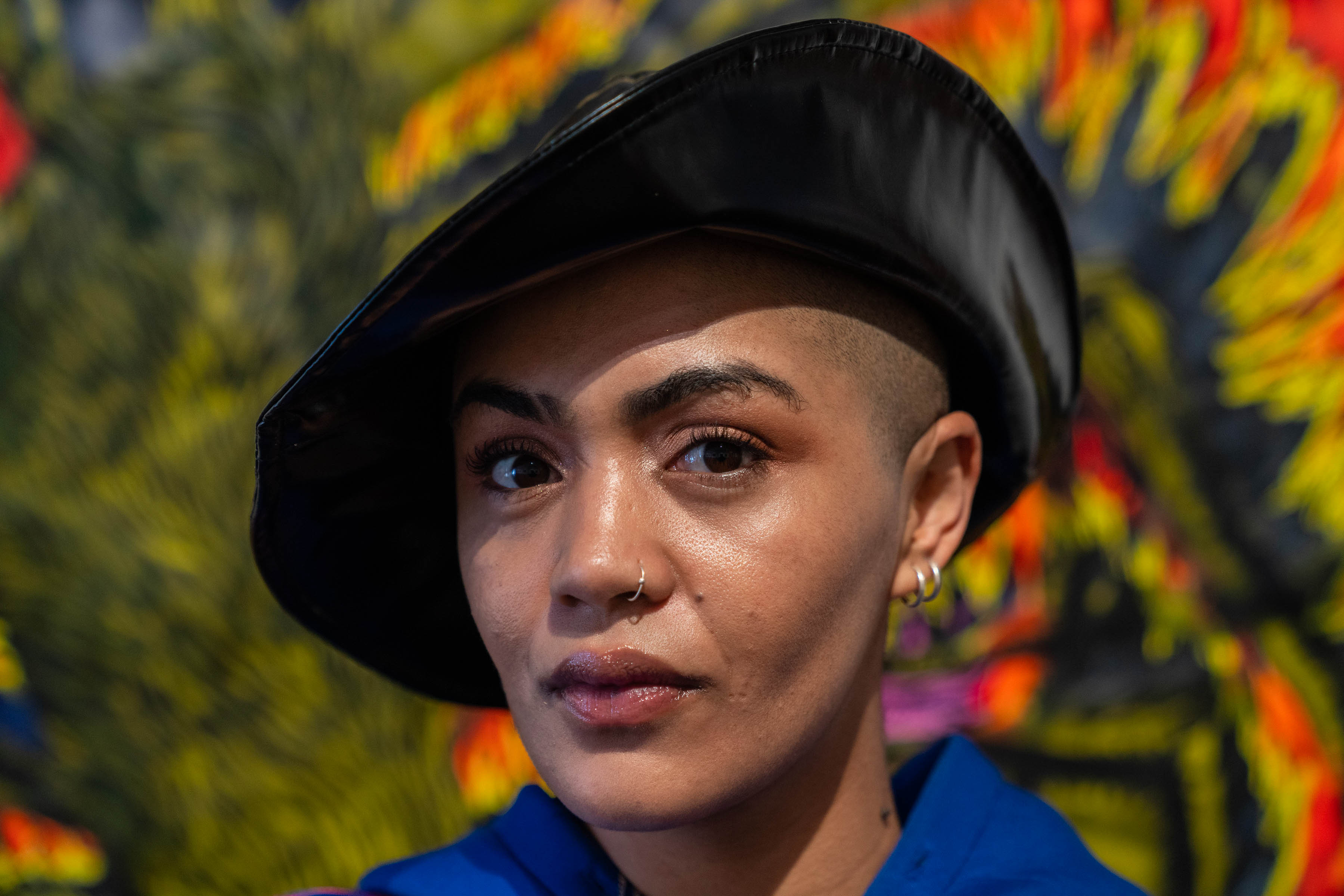 27 June 2019: Lady Skollie works to create vital spaces where art can be accessible beyond narrowly defined limits, especially for black audiences and artists, who were historically prohibited from some galleries. (Photograph by Ihsaan Haffejee)