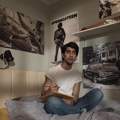 Undated: Viveik Kalra plays Javed Khan, a Pakistani-British teenager whose life is transformed when he discovers Bruce Springsteen's music, in Blinded by the Light. (Photograph by Nick Wall)