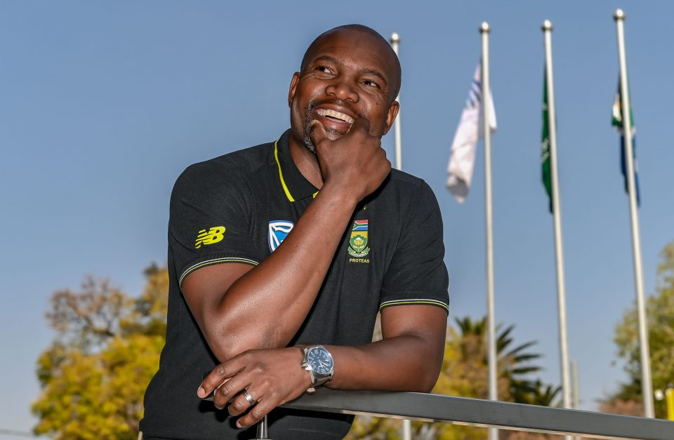 15 August 2019: Interim Proteas coach Enoch Nkwe at Cricket South Africa's head office in Johannesburg, South Africa. (Photograph by Christiaan Kotze/Gallo Images)