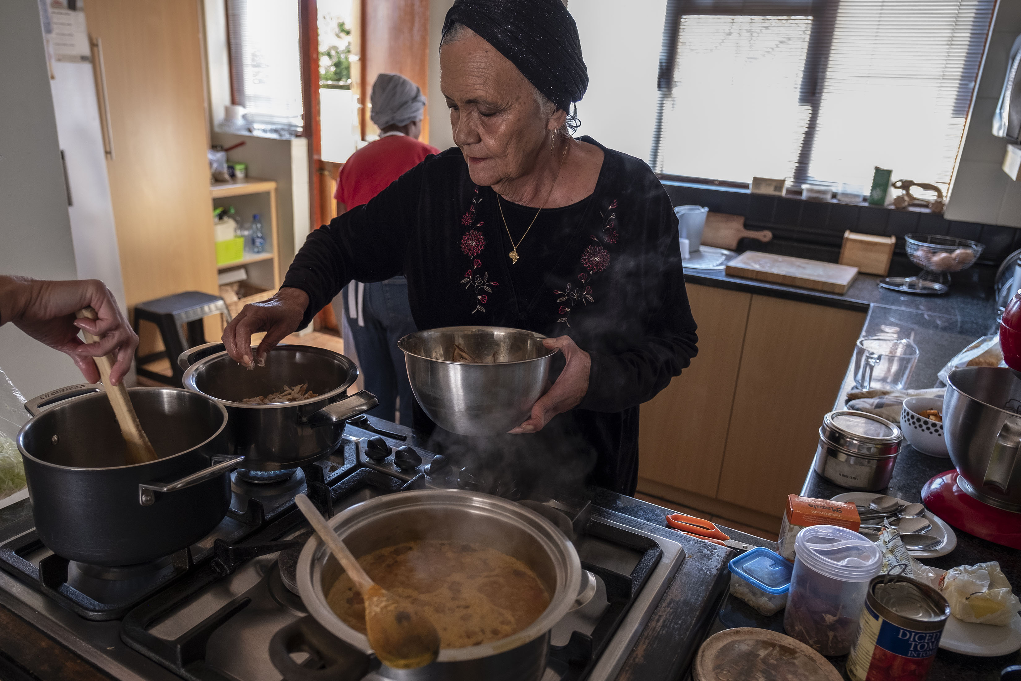 3 September 2019: Cass Abrahams cooked for former president Nelson Mandela and found it memorable that he came into the kitchen to thank the staff.