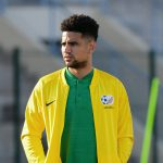 30 May 2019: Keagan Dolly during a Bafana Bafana media open day and coaching clinic at the Sugar Ray Xulu Stadium in Durban, KwaZulu-Natal. (Photograph by Darren Stewart/Gallo Images)