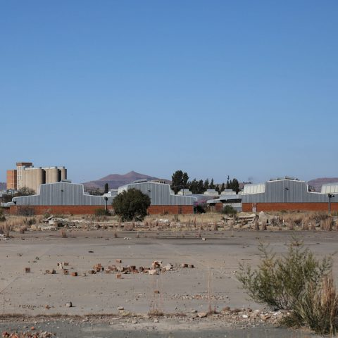 11 July 2019: Abandoned factories built by the Bophuthatswana government in Thaba Nchu.