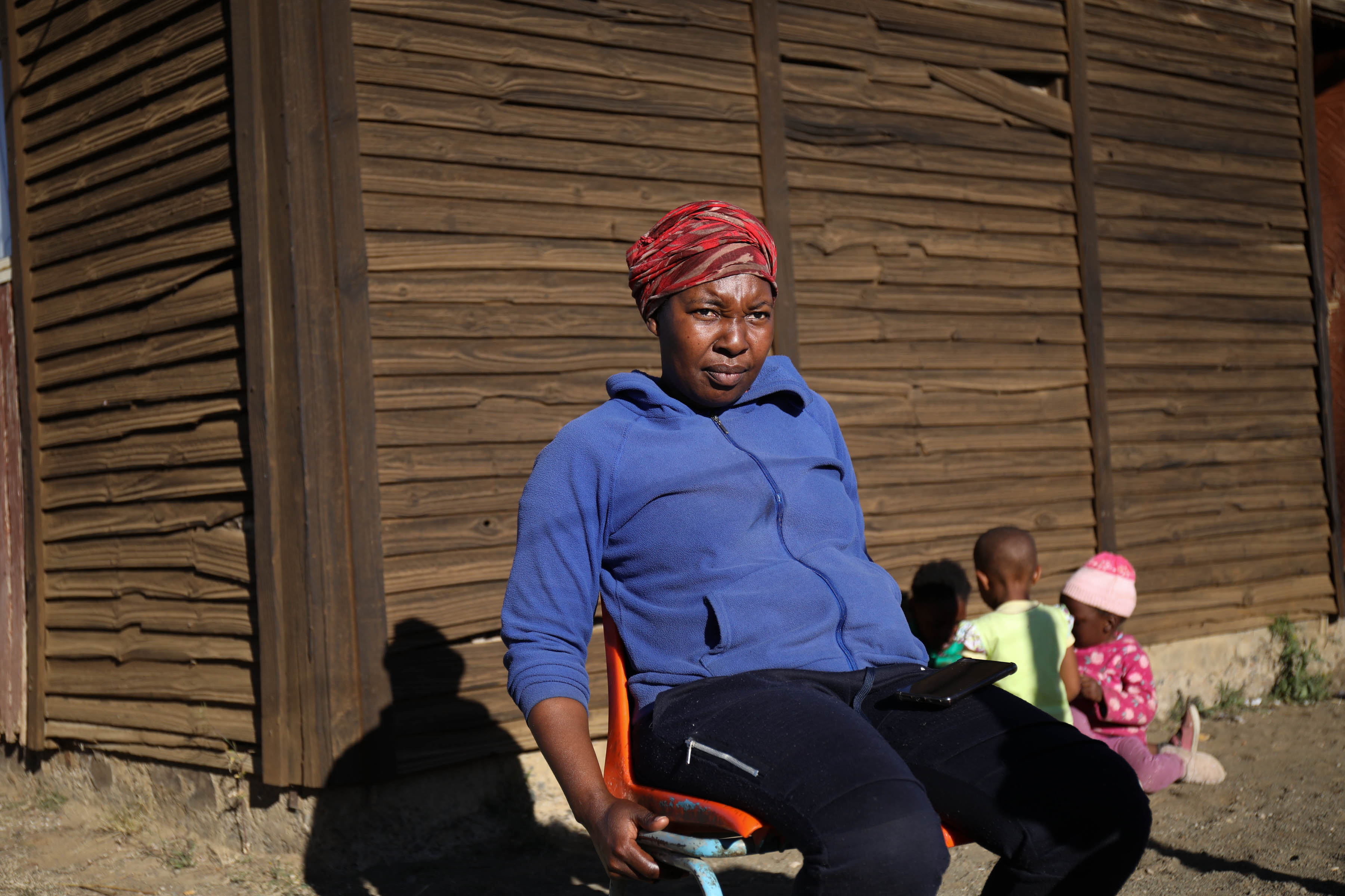 11 July 2019: Keneilwe Lekhaliswe lives in a rickety wooden house built by the Bophuthatswana government. She is struggling to get an RDP house in Thaba Nchu