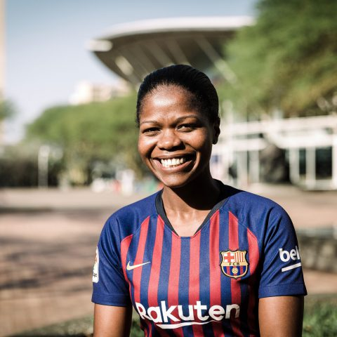 17 August 2019: Nontu Mgabhi, 32, plans to run seven marathons on seven continents in seven days early next year, to raise funds for Khiphinkunzi Primary School in Mtubatuba.