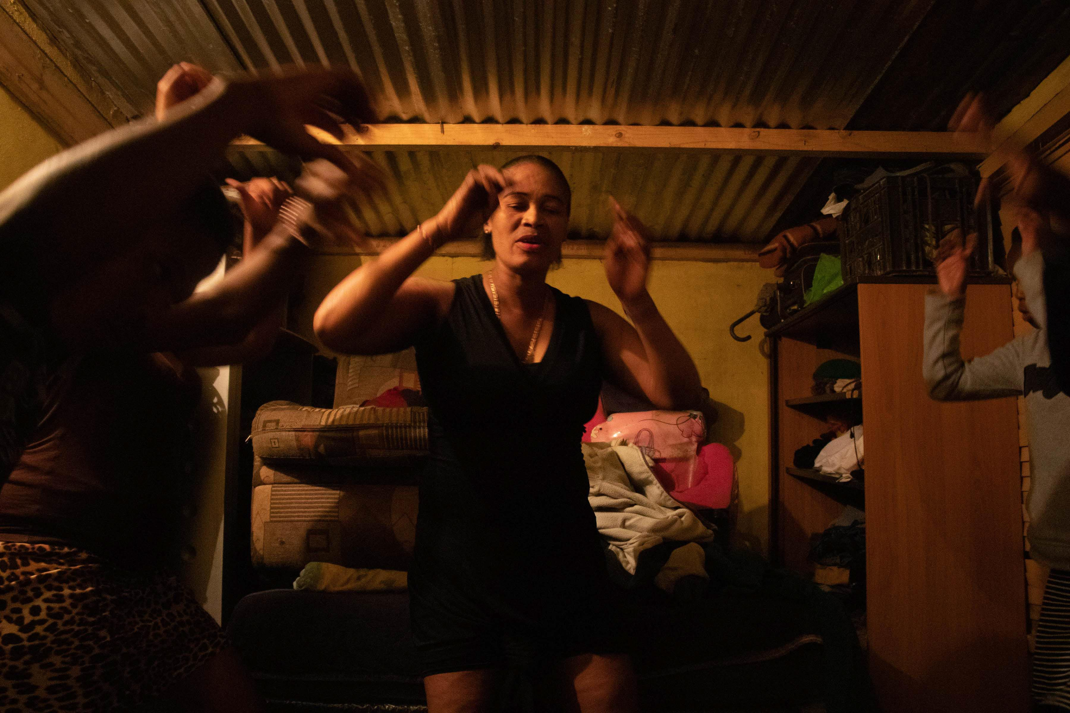 2 October 2019: Lindiwe Promise Magwaza lights up when she speaks about the mbaqanga group, Intandokazi, that she formed with her children and a few of their friends. They meet at Magwaza's house on weekday evenings to rehearse their dance routines.