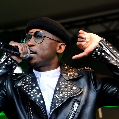 25 June 2019: Khuli Chana during the AMPD Icons Hero Conversations, in which he shared a platform with Sipho 'Hotstix' Mabuse, at the AMPD Studios in Newtown, Johannesburg. (Photograph by Oupa Bopape)