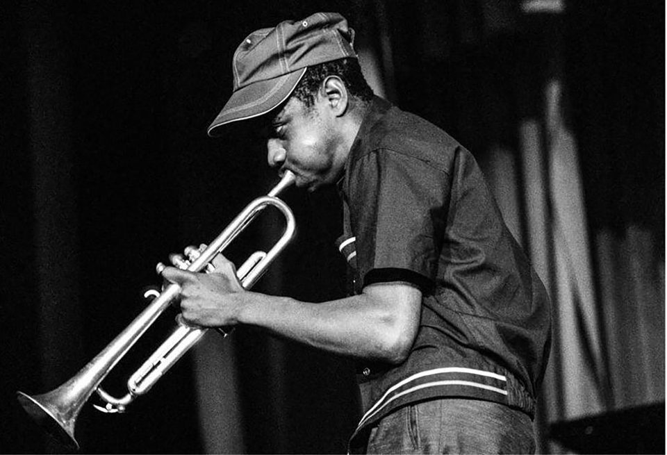 1964: Rare new photos of jazz band the Blue Notes show Mongezi Feza on trumpet at a concert in Pietermaritzburg, South Africa.