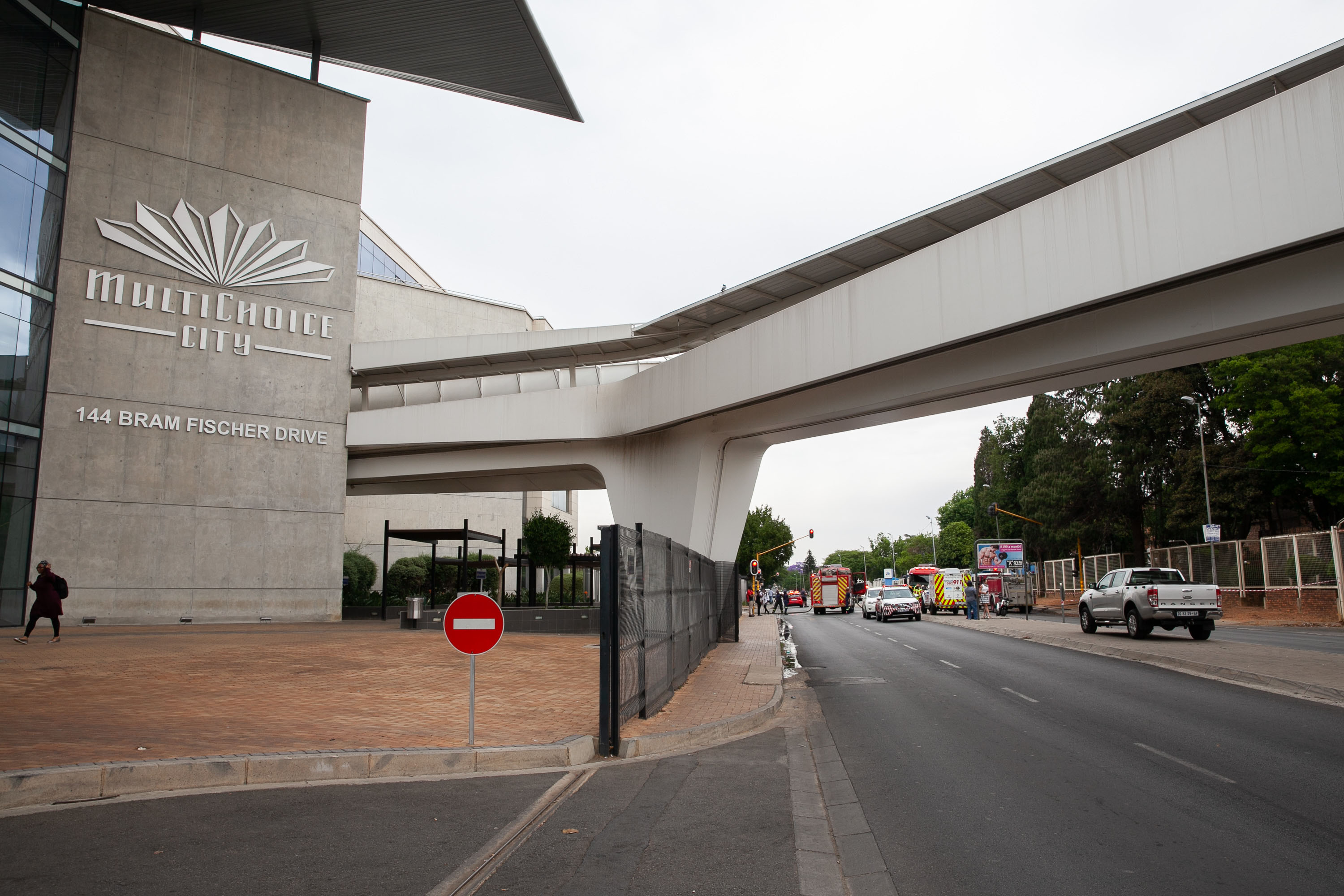 15 October 2019: The outside of MultiChoice's headquarters in Randburg. (Photograph by Gallo Images/Luba Lesolle)