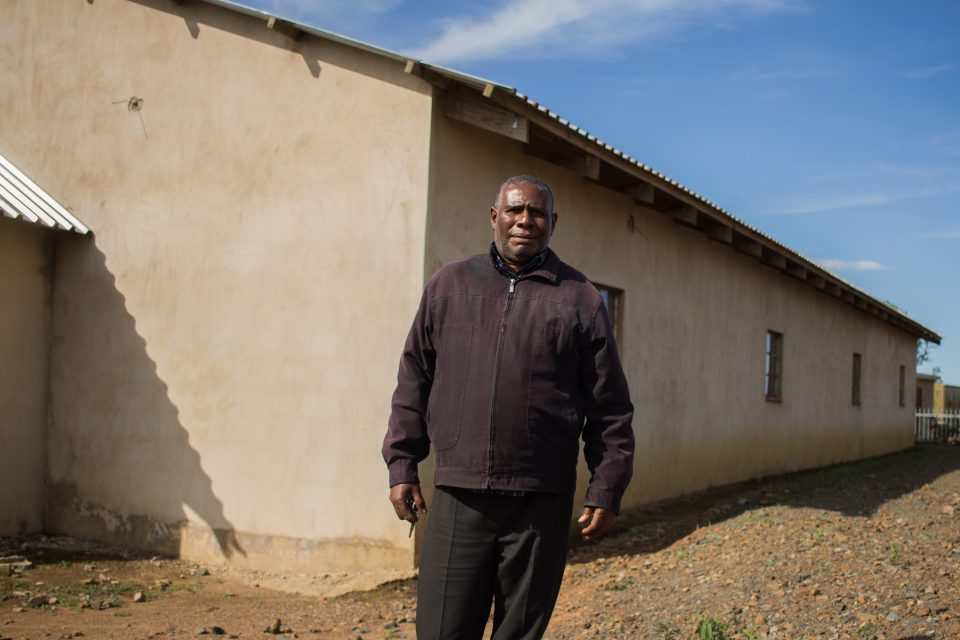 2 October 2019: Pastor Bafana Sibiya leads Ukukhanya Kwevangeli Church in Bhamshela, 90km from Durban. The church is at the centre of a land dispute.