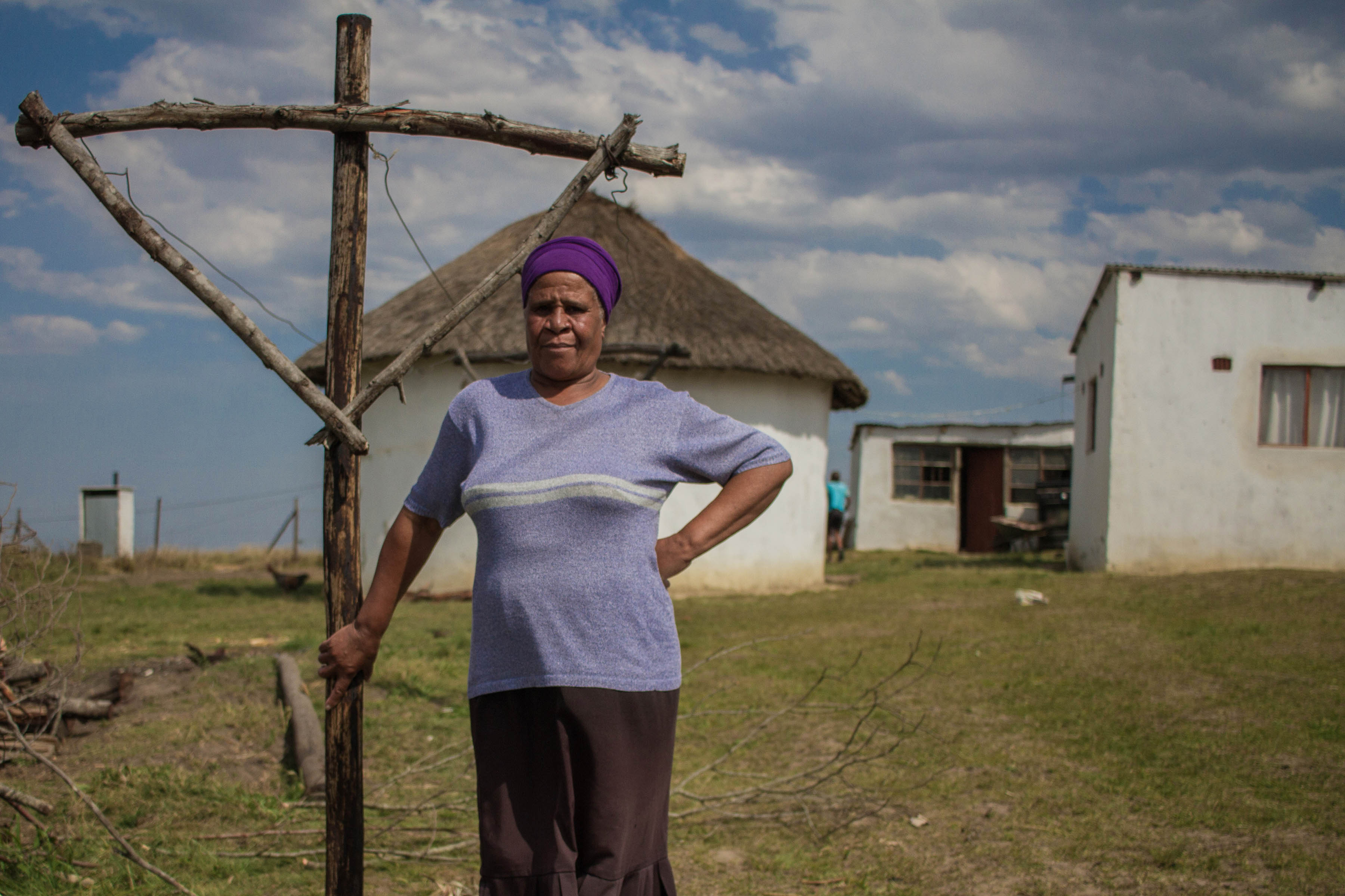 3 October 2019: Britic Mthembu is a resident of the village, which falls under ward 35 and is made up of a combination of private land and land administered by the Ingonyama Trust.