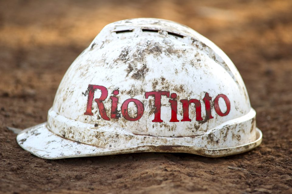 "2 June 2011: Rio Tinto, arguably Australia's most infamous multinational mining group, has recently taken on a new image of ""corporate social responsibility"". But its blood-soaked past should not be forgotten. (Photograph by Aaron Bunch/Getty Images)"