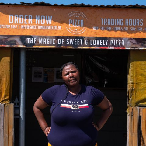 26 September 2019: Nokuthula Sigaba is the owner of Sweet 'n Lovely Pizza.