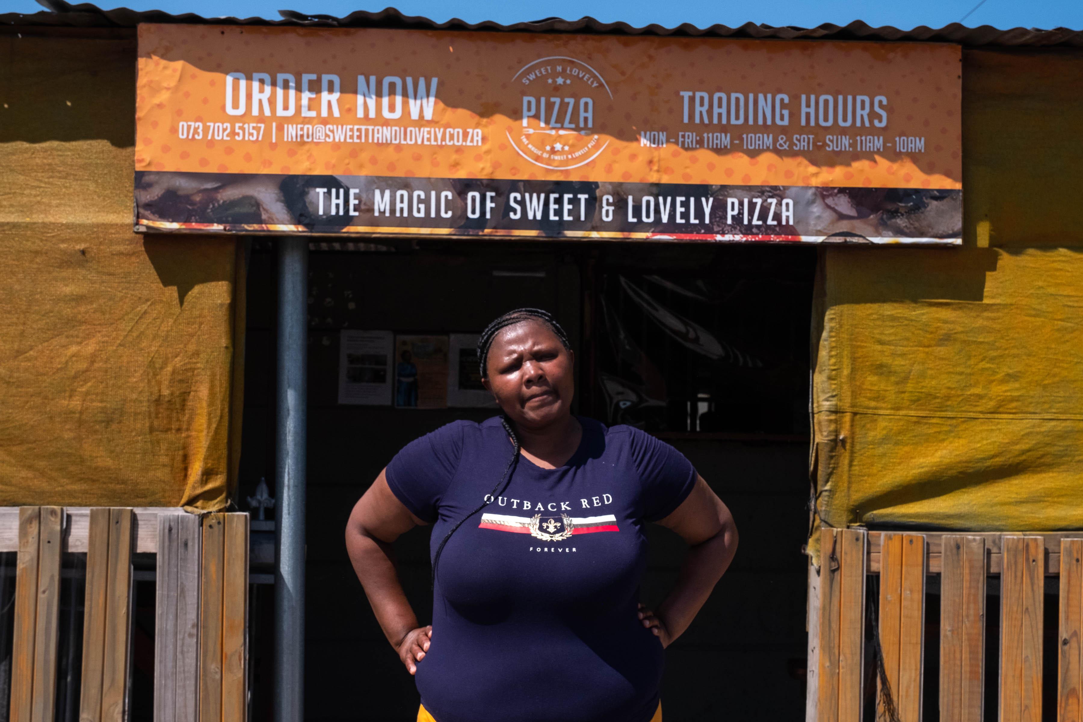 26 September 2019: Nokuthula Sigaba is the owner of Sweet 'n Lovely Pizza.