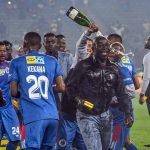 5 October 2019: Kaitano Tembo of SuperSport United, the coach loved for his ability to bond with his players, during the MTN8 final against Highlands Park at Orlando Stadium in Soweto, Johannesburg. (Photograph by Sydney Seshibedi/Gallo Images)