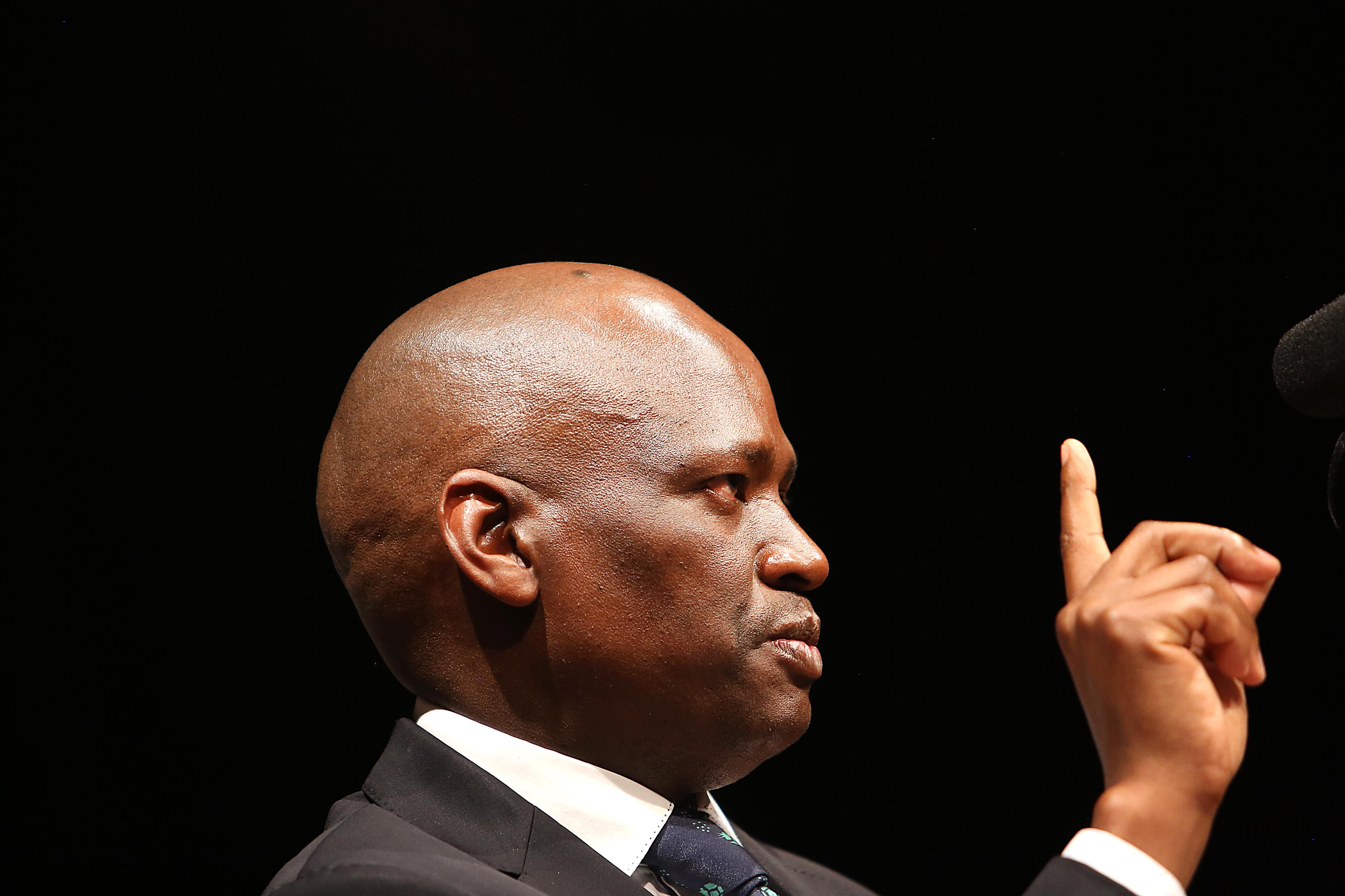 6 October 2016: SABC acting chief operating officer Hlaudi Motsoeneng signed the allegedly 'unlawful' deal with MultiChoice that is under scrutiny at the Zondo commission. (Photograph by Gallo Images/The Times/Alon Skuy)
