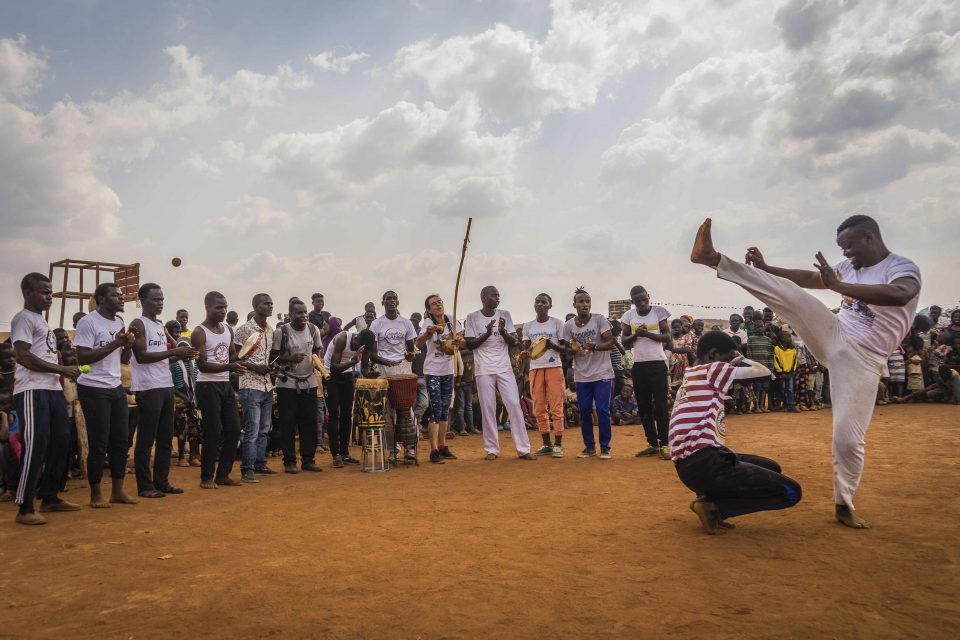 November 2018: The Tumaini Festival is held at Dzaleka, a former political prison turned refugee camp in the Dowa region of central Malawi. (Photographs supplied by Tumaini Festival Media Library)