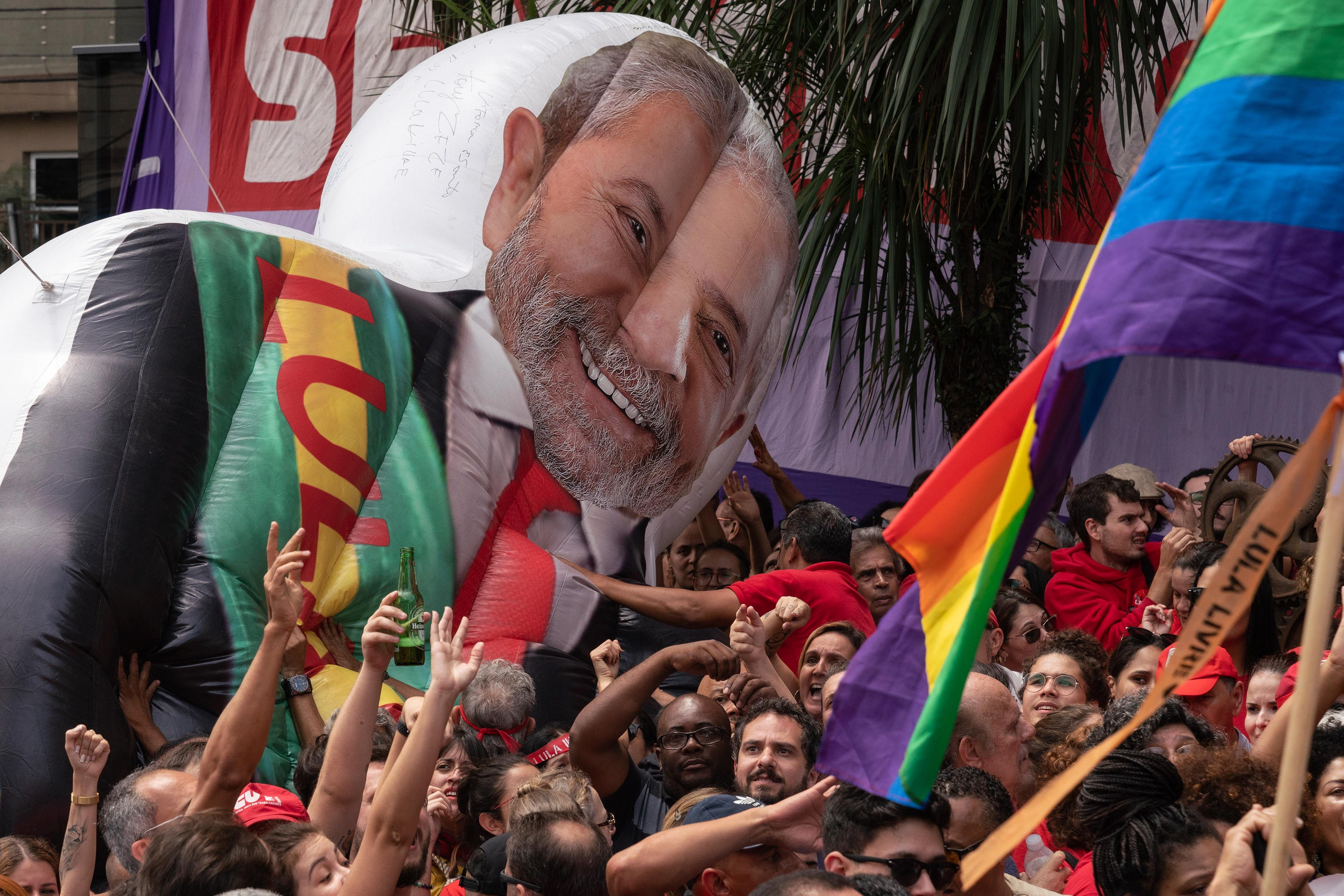 9 November 2019: Lula's release has been understood as a victory for the Left in Brazil.