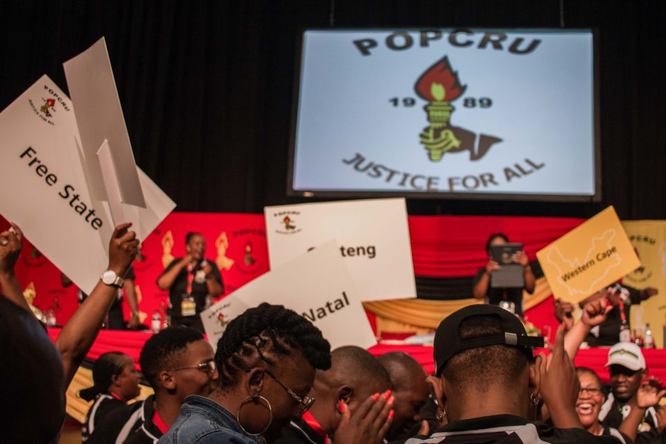 6 November 2019: More than a thousand delegates attended the ninth Popcru National Congress held at the Inkosi Albert Luthuli Convention Centre in Durban.