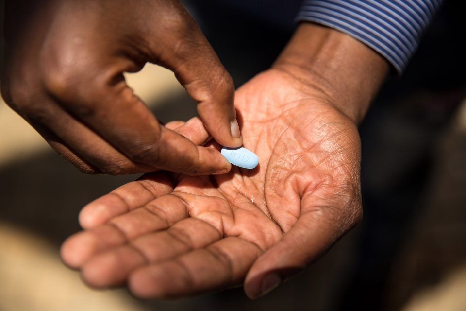 30 November 2017: Pre-exposure prophylaxis is a drug regime available to young women and those like Thembelani Sibanda, who is not HIV-positive but says his lifestyle puts him at risk of contracting HIV. (Photograph by Gallo Images/The Times/Daniel Born)