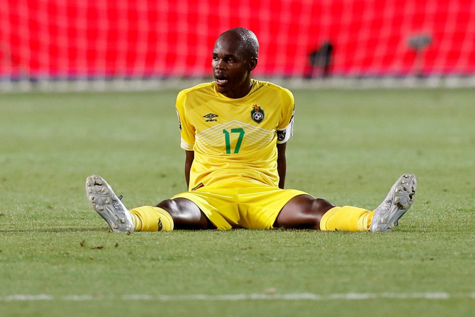 26 June 2019: Zimbabwe's captain, Knowledge Musona, is still struggling to find his scoring touch since the disappointing display in the Africa Cup of Nations in Egypt. (Photograph by REUTERS/Mohamed Abd El Ghan)