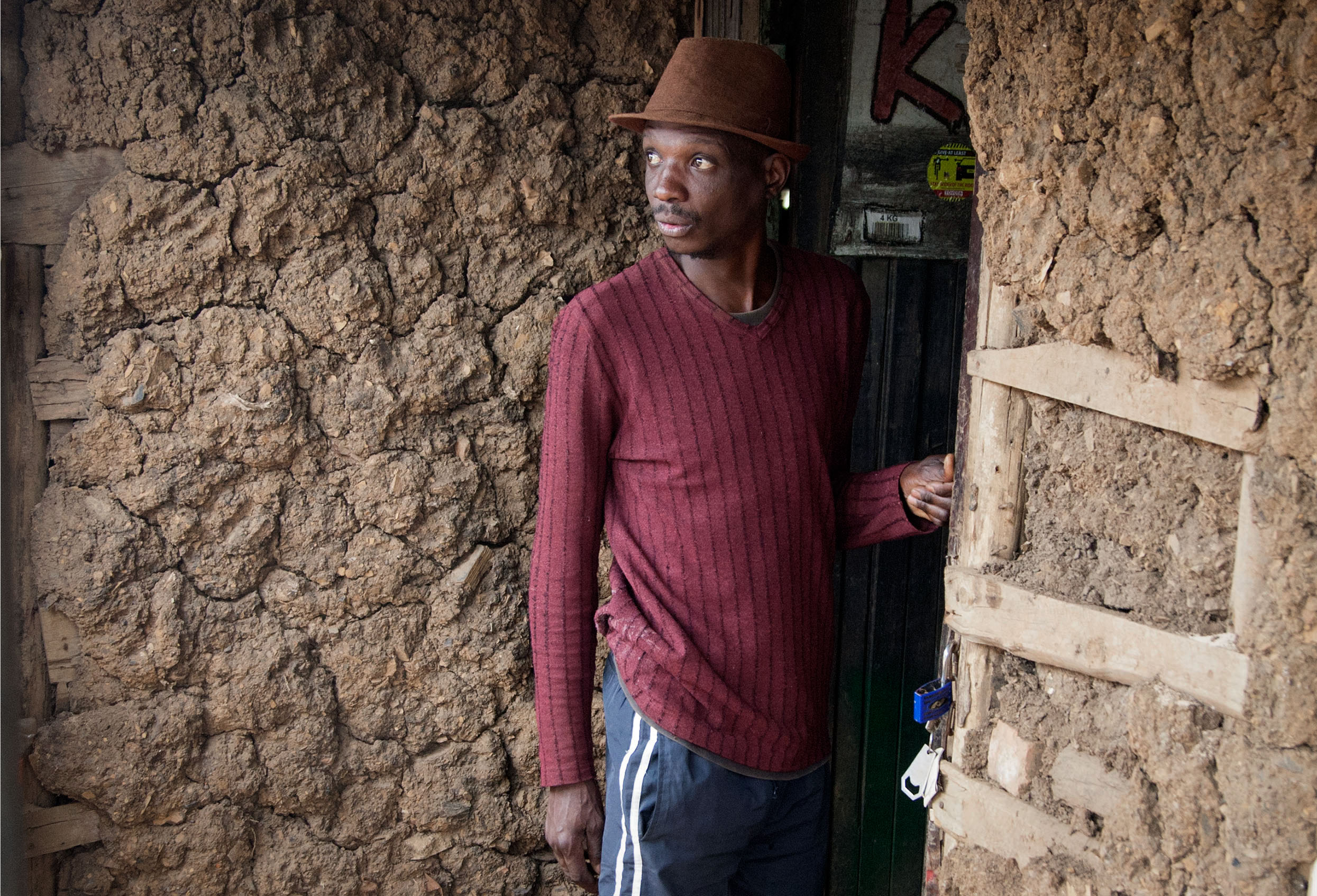 16 November 2019: Sifiso Mdletshe, who lives in Tommy Property shack settlement, says his brother is the local councillor for Ward 53 but has not come to his aid.
