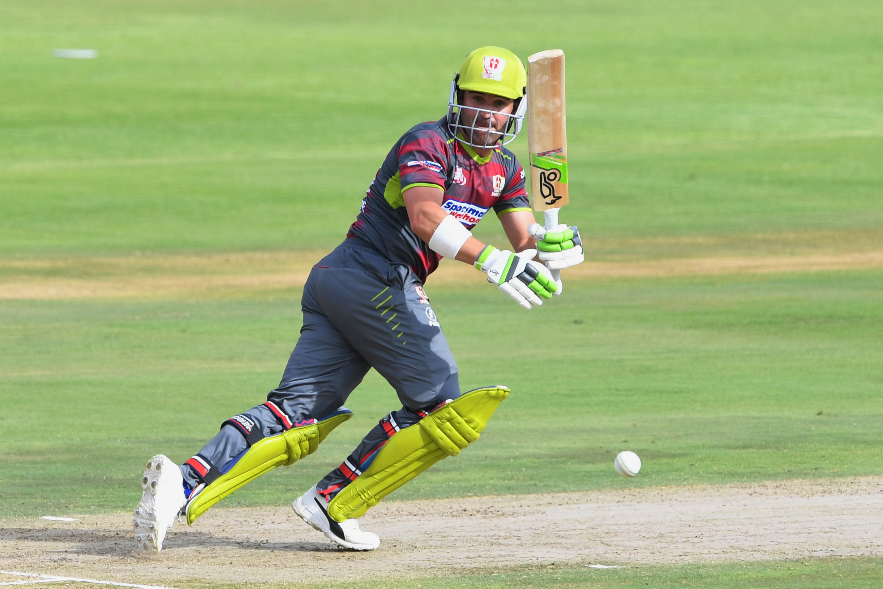 5 December 2018: Dean Elgar of the Tshwane Spartans in action during their Mzansi Super League match against Paarl Rocks at SuperSport Park in Tshwane, South Africa. (Photograph by Lee Warren/Gallo Images)
