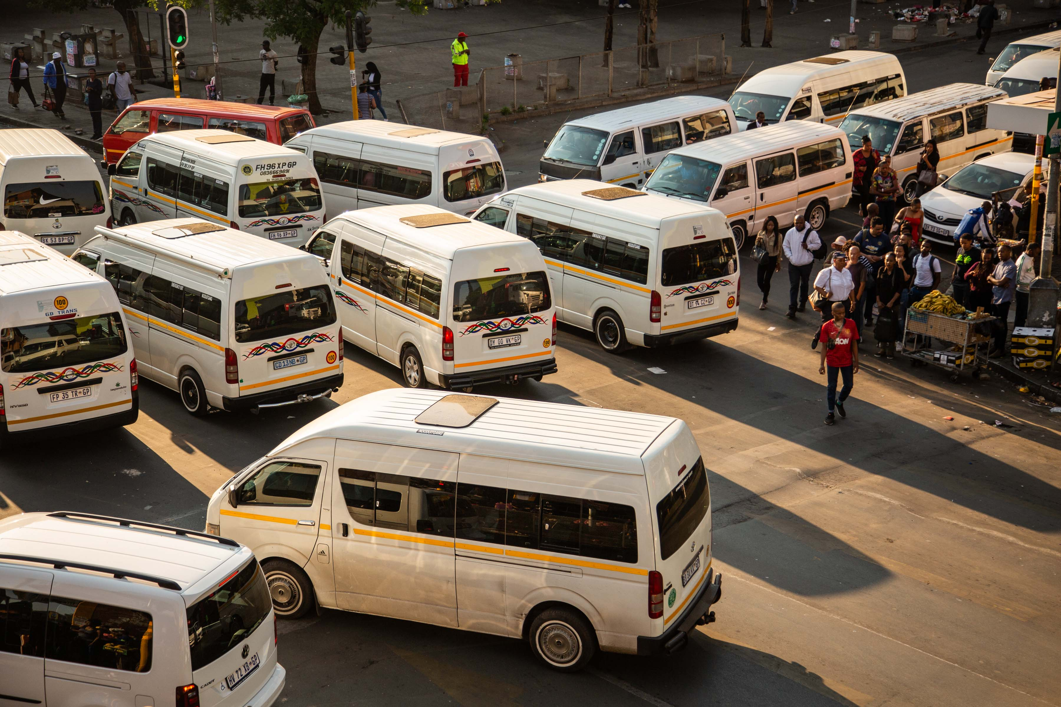 24 October 2019: Business has declined for the vendors at the Bree Taxi Rank as more and more street traders without vending permits have arrived and set up in the busiest spots. (Photograph by Noncedo Gxekwa)