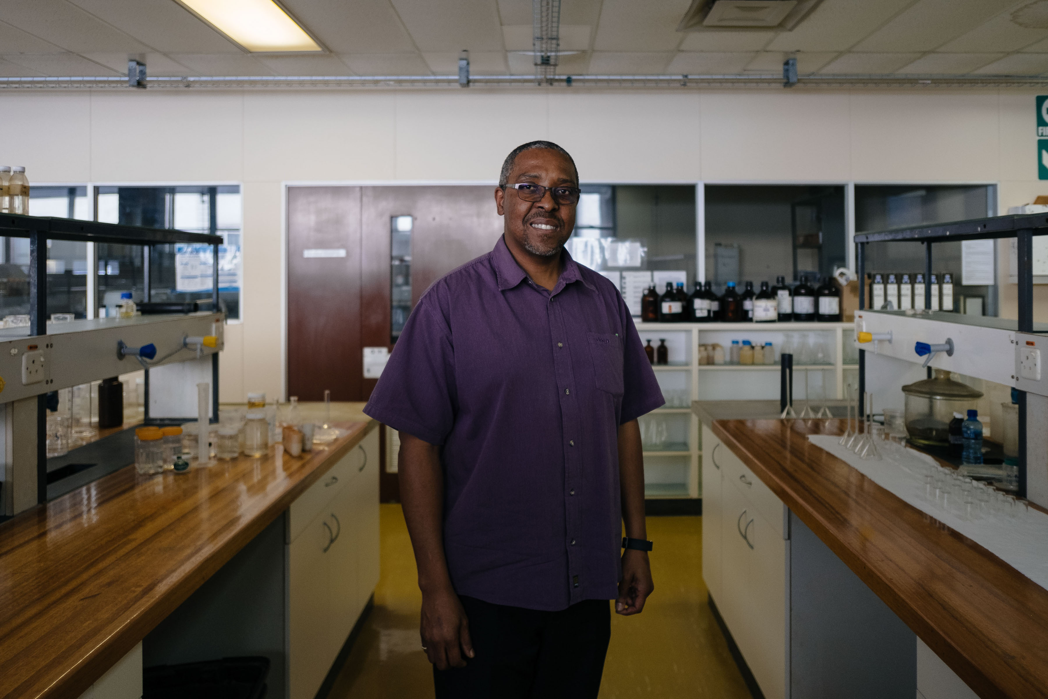 14 November 2019: Phumelele Gama, a wetland expert and head of the botany department at Nelson Mandela University, supports the idea of desalination plants as he says overreliance on boreholes has long-term consequences for groundwater.