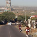 5 November 2006: The Soweto Marathon has much to offer in terms of heritage sites along the route, including the iconic cooling towers of the former Orlando Power Station. (Photograph by Duif du Toit/Gallo Images)