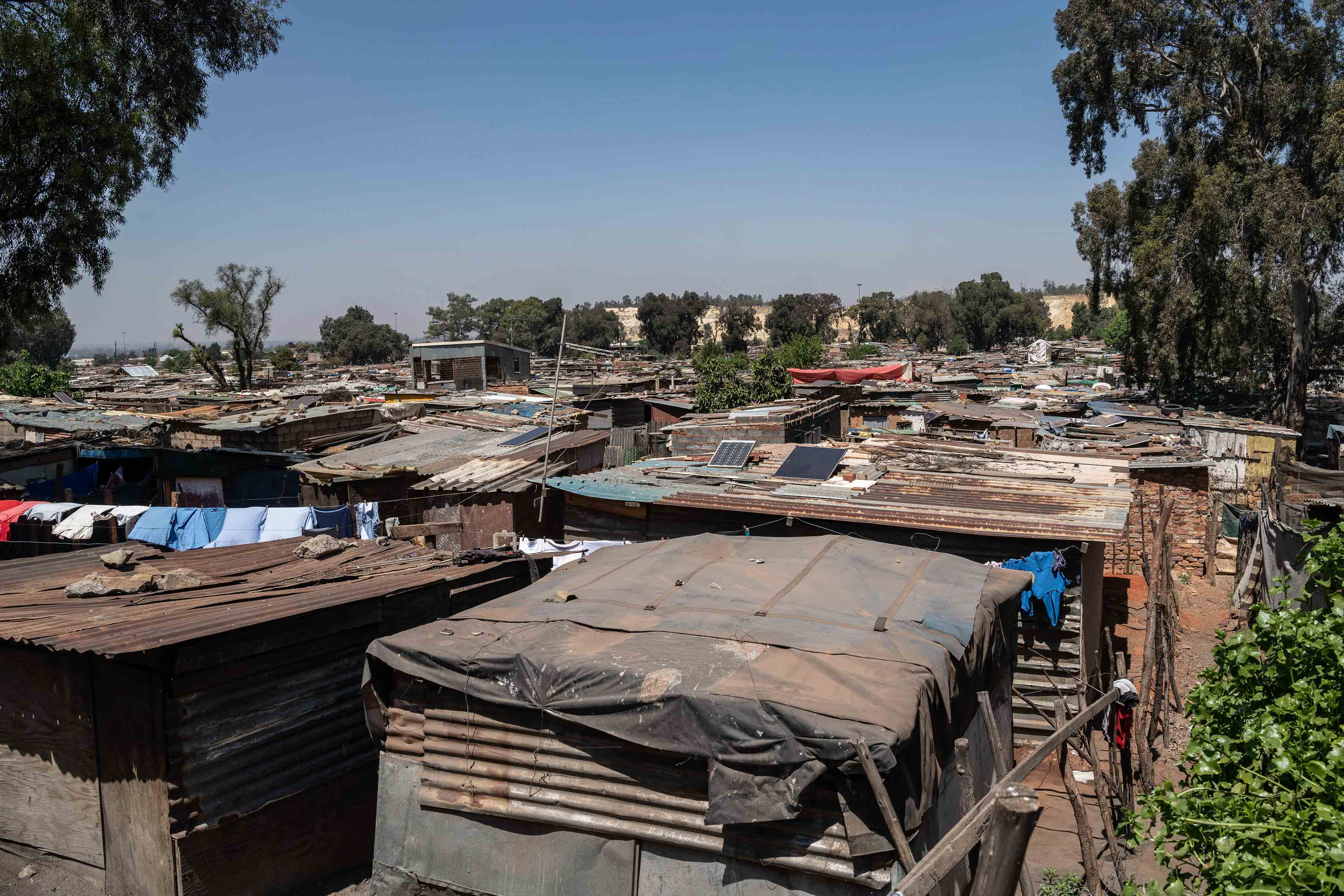 1 October 2019: The shacks in Makause are close to one another, but criminals know where all the small avenues lead.
