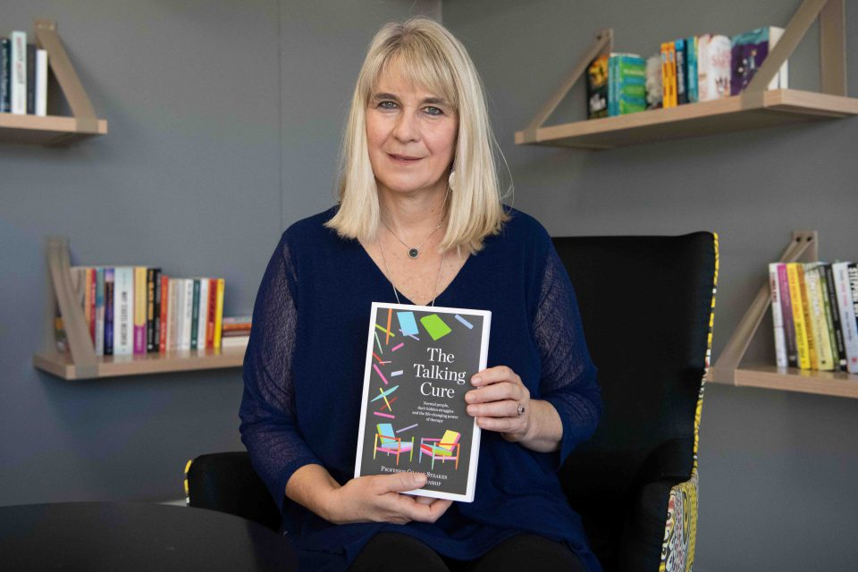 25 September 2019: Clinical psychologist, psychotherapist and author Jacqui Winship wants to promote conversations about good mental health. (Photograph by Daylin Paul)