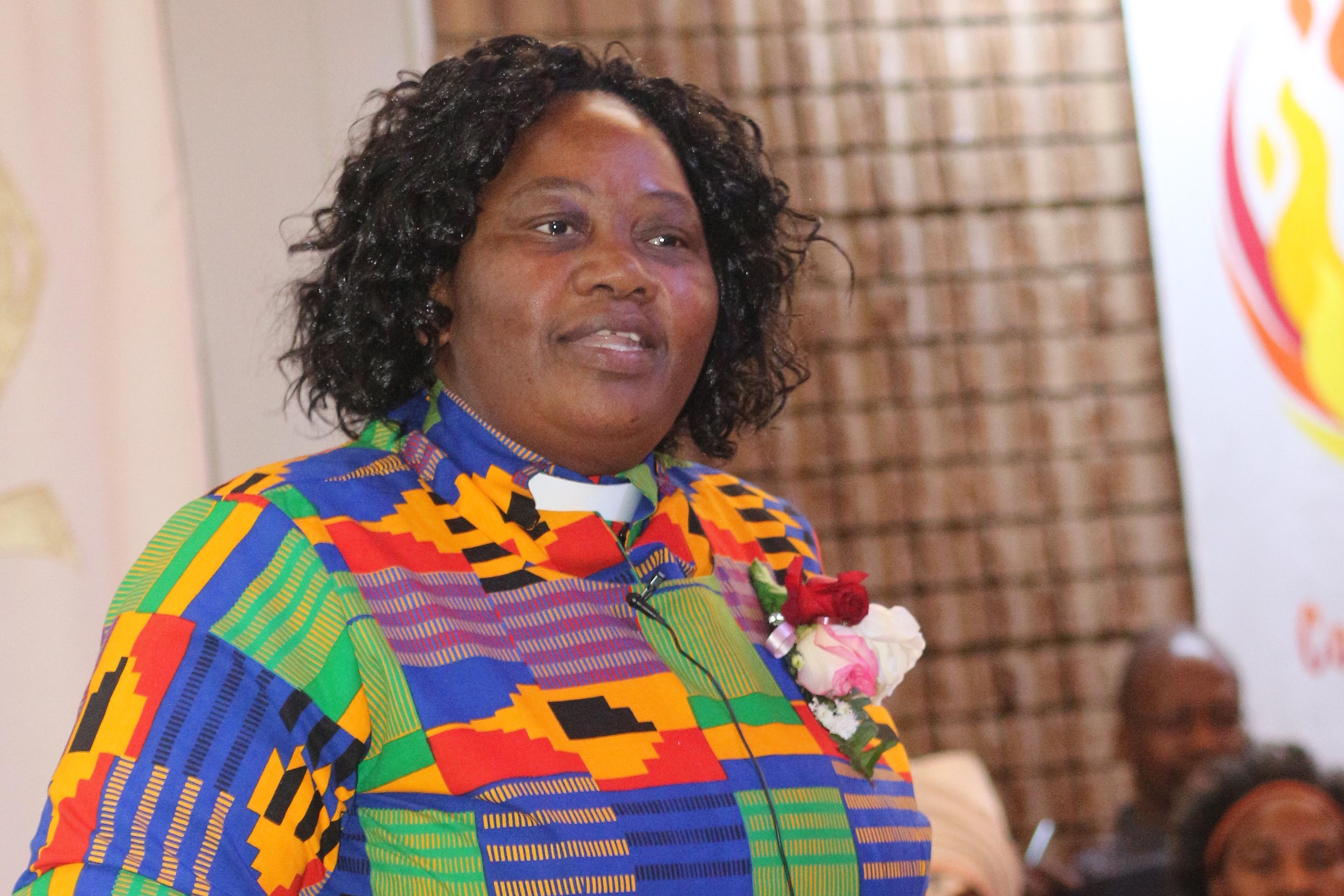Undated: As the Methodist Church of Southern Africa's new presiding bishop, Purity Malinga is the church's most senior leader. (Photograph courtesy of the Methodist Church of Southern Africa)