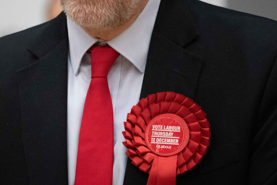 13 December 2019: British Labour Party leader Jeremy Corbyn retained his seat after the Tories won the election Conservative Prime Minister Boris Johnson called to break the parliamentary deadlock over Brexit. (Photograph by Leon Neal/Getty Images)