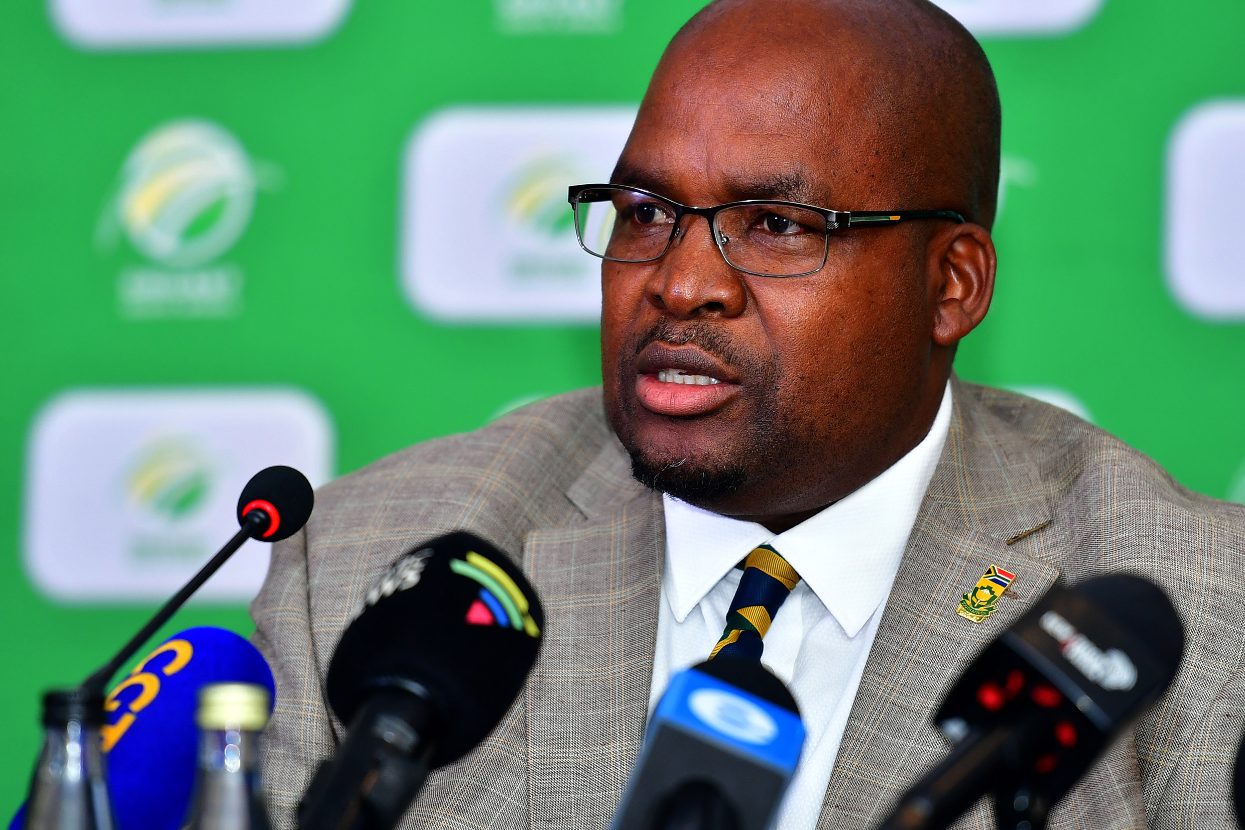 7 December 2019: Long-serving Cricket South Africa president Chris Nenzani is stubbornly staying put, despite calls for a new board from the public and private sectors. (Photograph by Johan Rynners/Gallo Images)